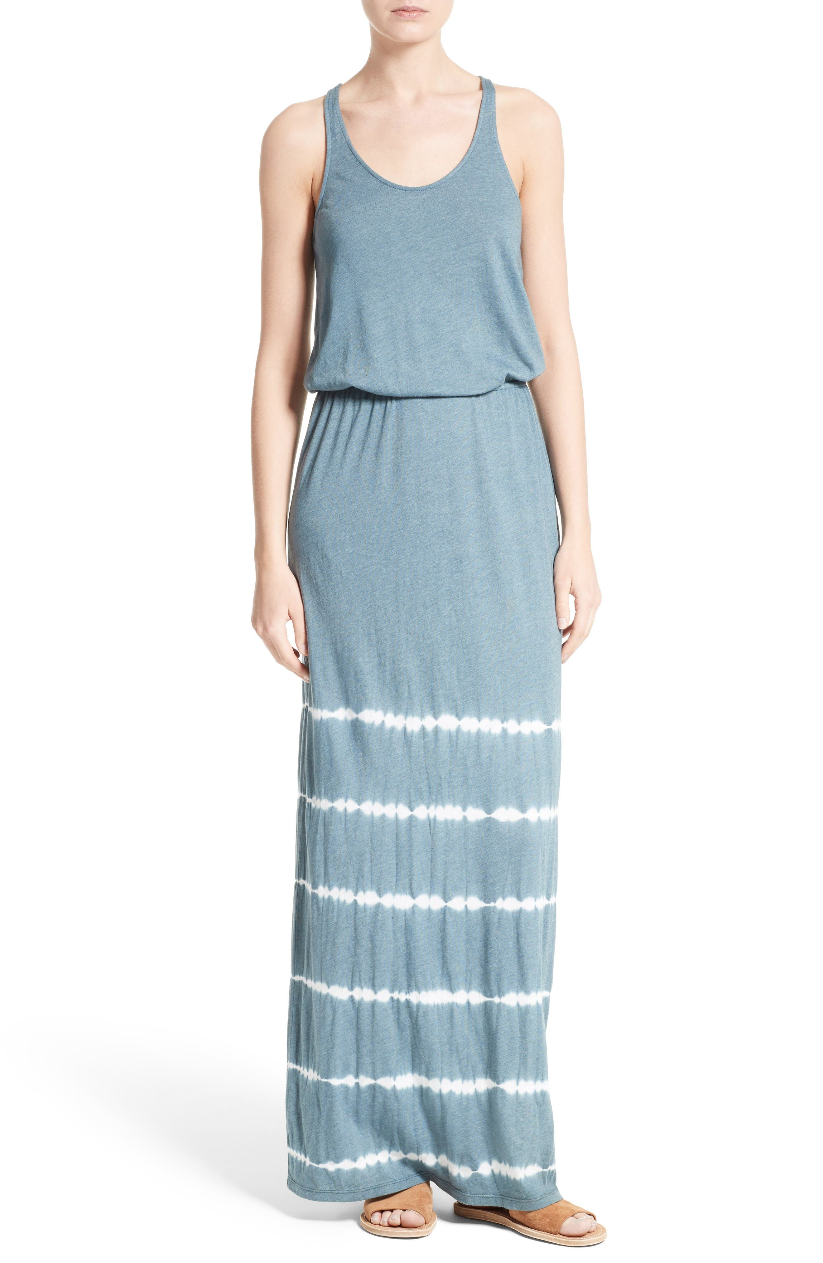 Soft Joie Ljiljana Tie Dye Jersey Maxi Dress