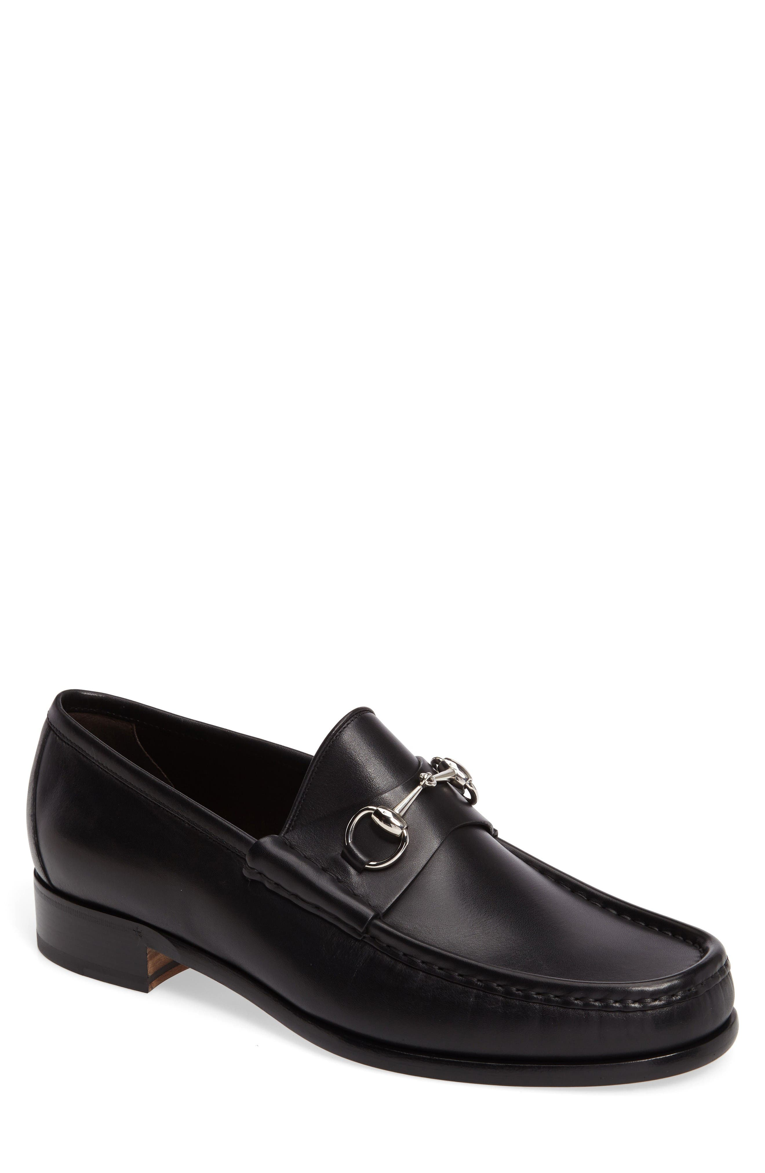 Main Image - Gucci Classic Leather Moccasin