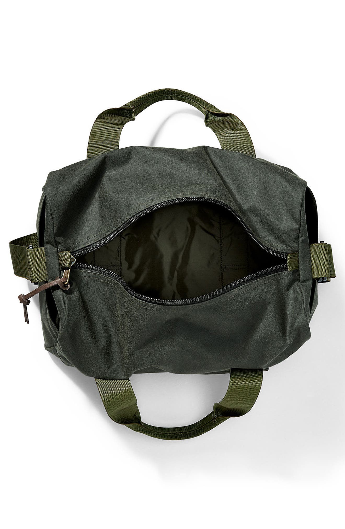 Small Field Duffel Bag,                             Alternate thumbnail 3, color,                             Spruce