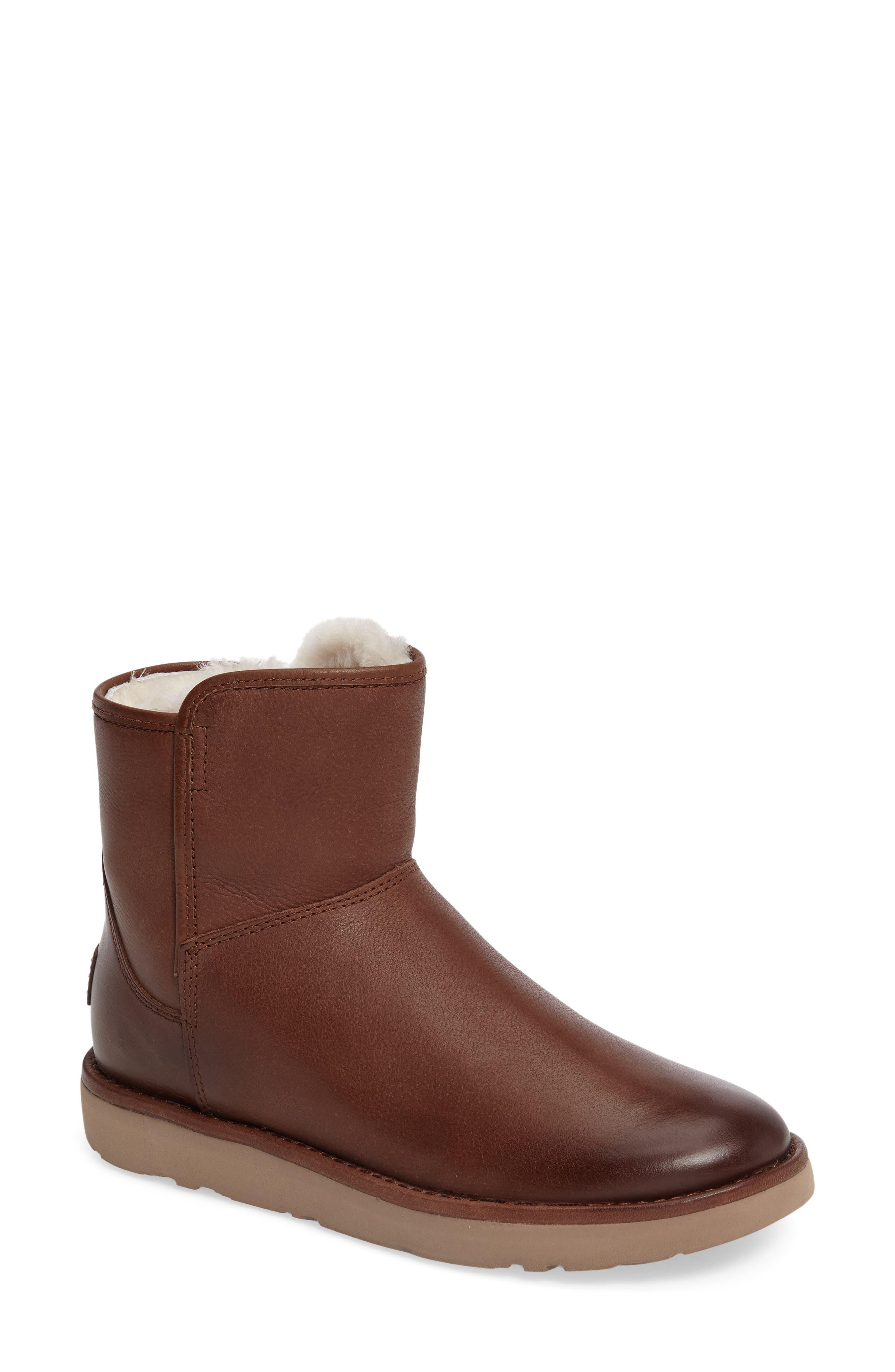 Alternate Image 1 Selected - UGG® Abree Mini Boot (Women)
