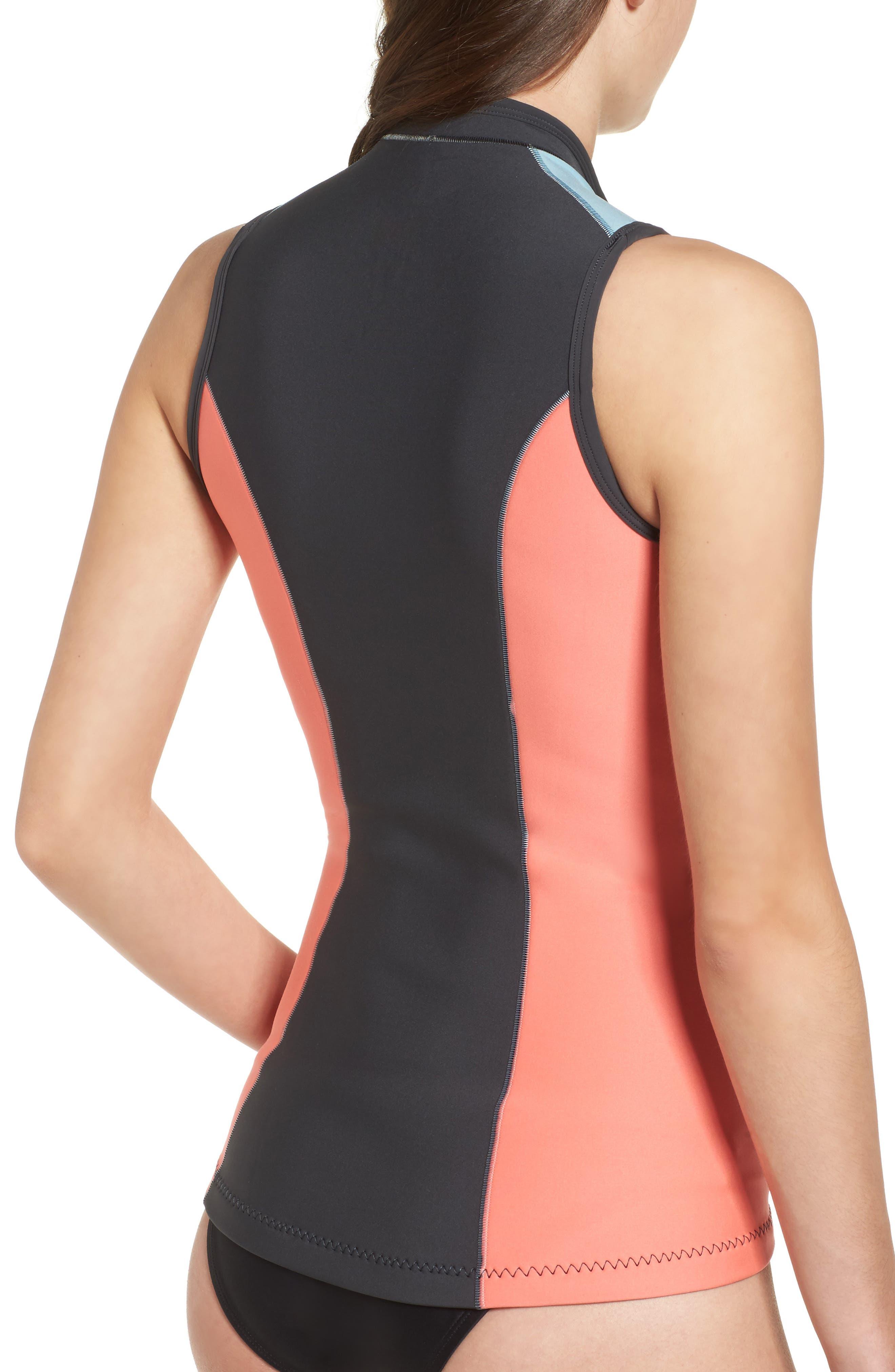 G-Bomb Wetsuit Vest,                             Alternate thumbnail 2, color,                             Coral