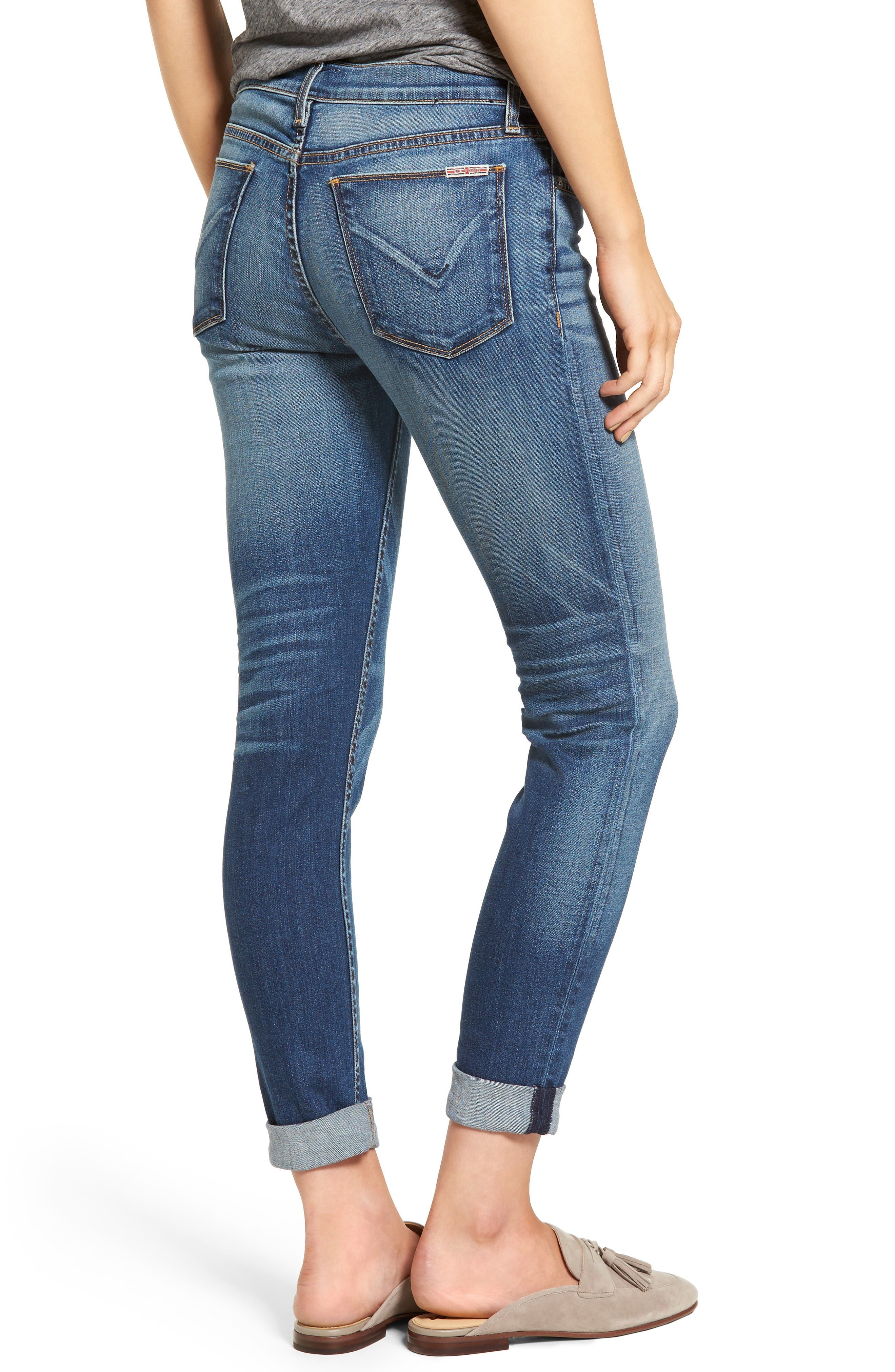 Tally Crop Skinny Jeans,                             Alternate thumbnail 2, color,                             Contender