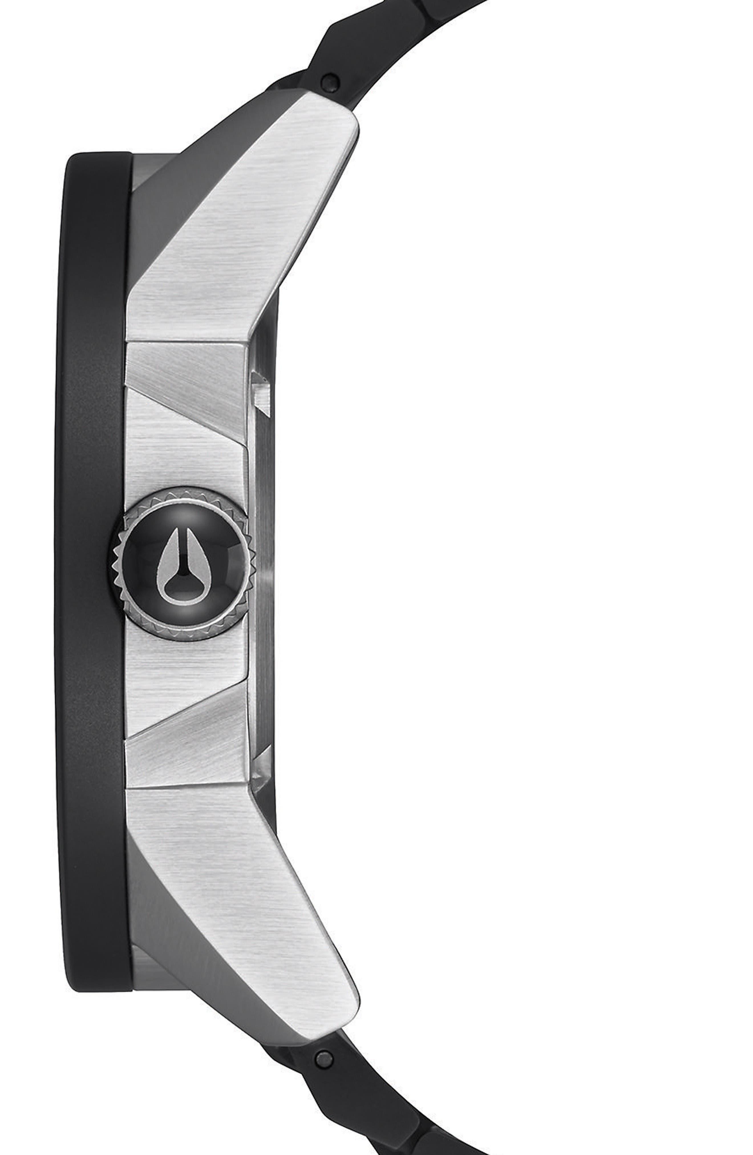 Corporal Bracelet Watch, 48mm,                             Alternate thumbnail 3, color,                             Black
