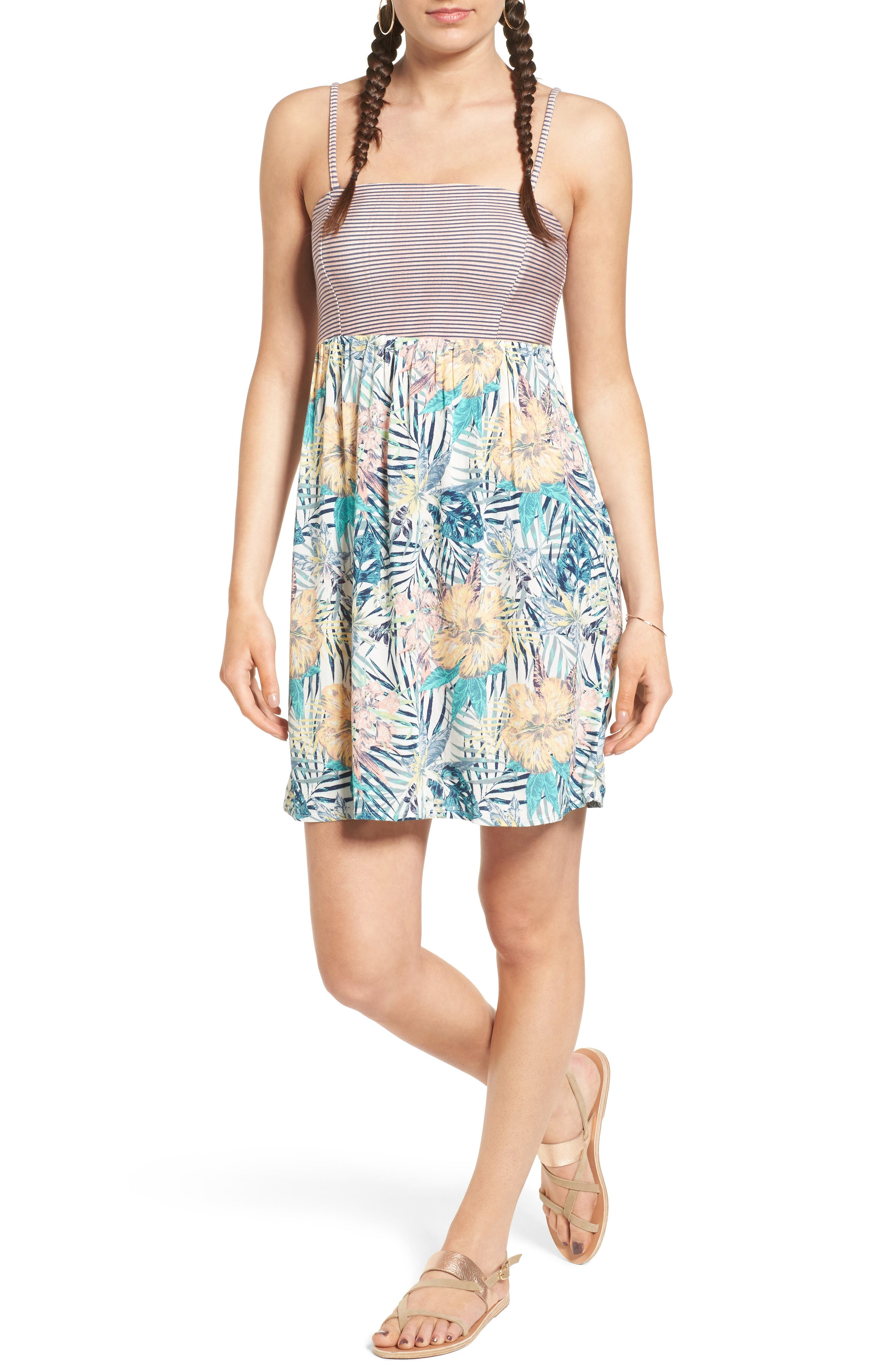 Main Image - Roxy Crystal Print Sundress