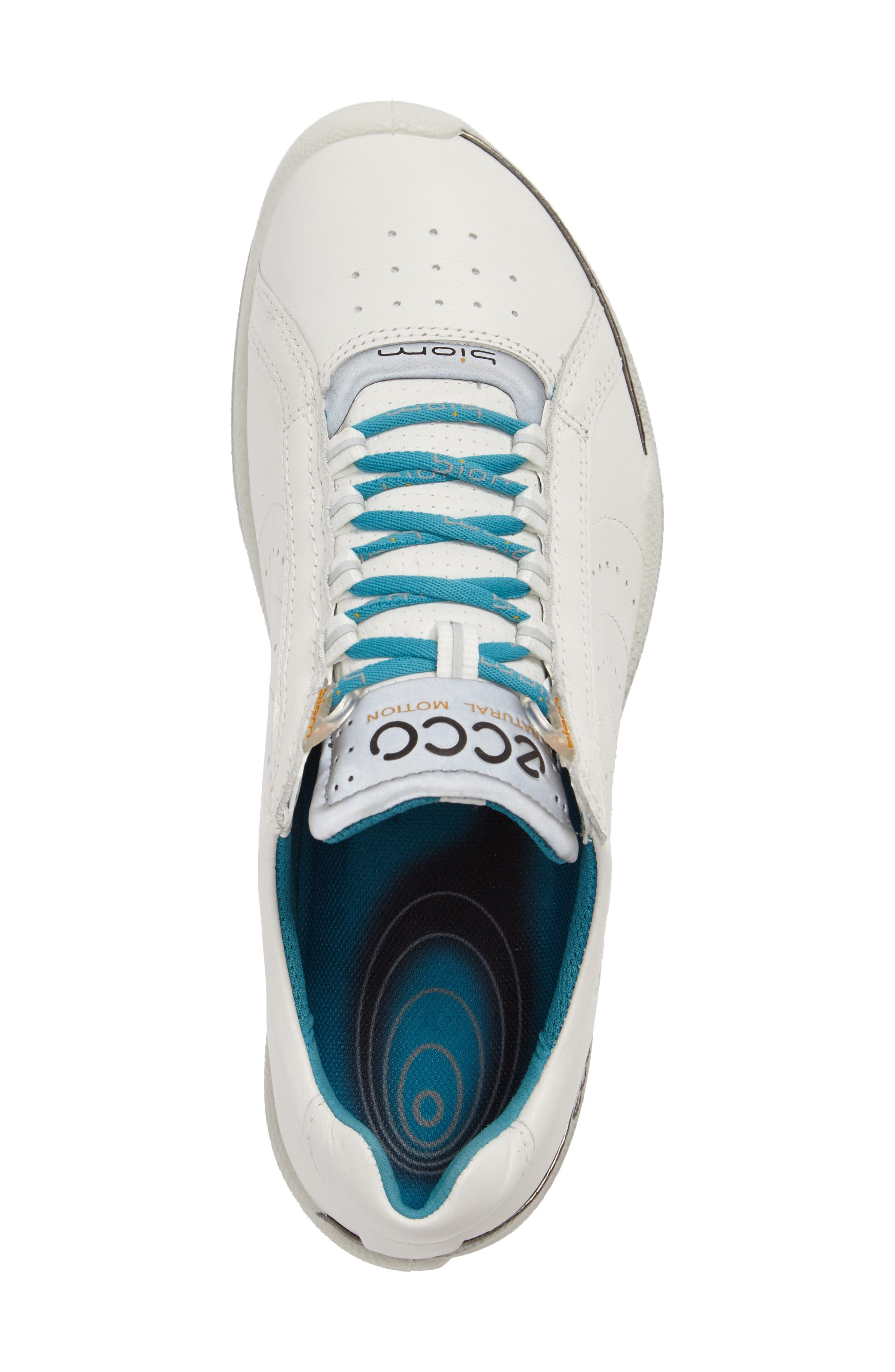 Biom 2 Waterproof Golf Shoe,                             Alternate thumbnail 5, color,                             White