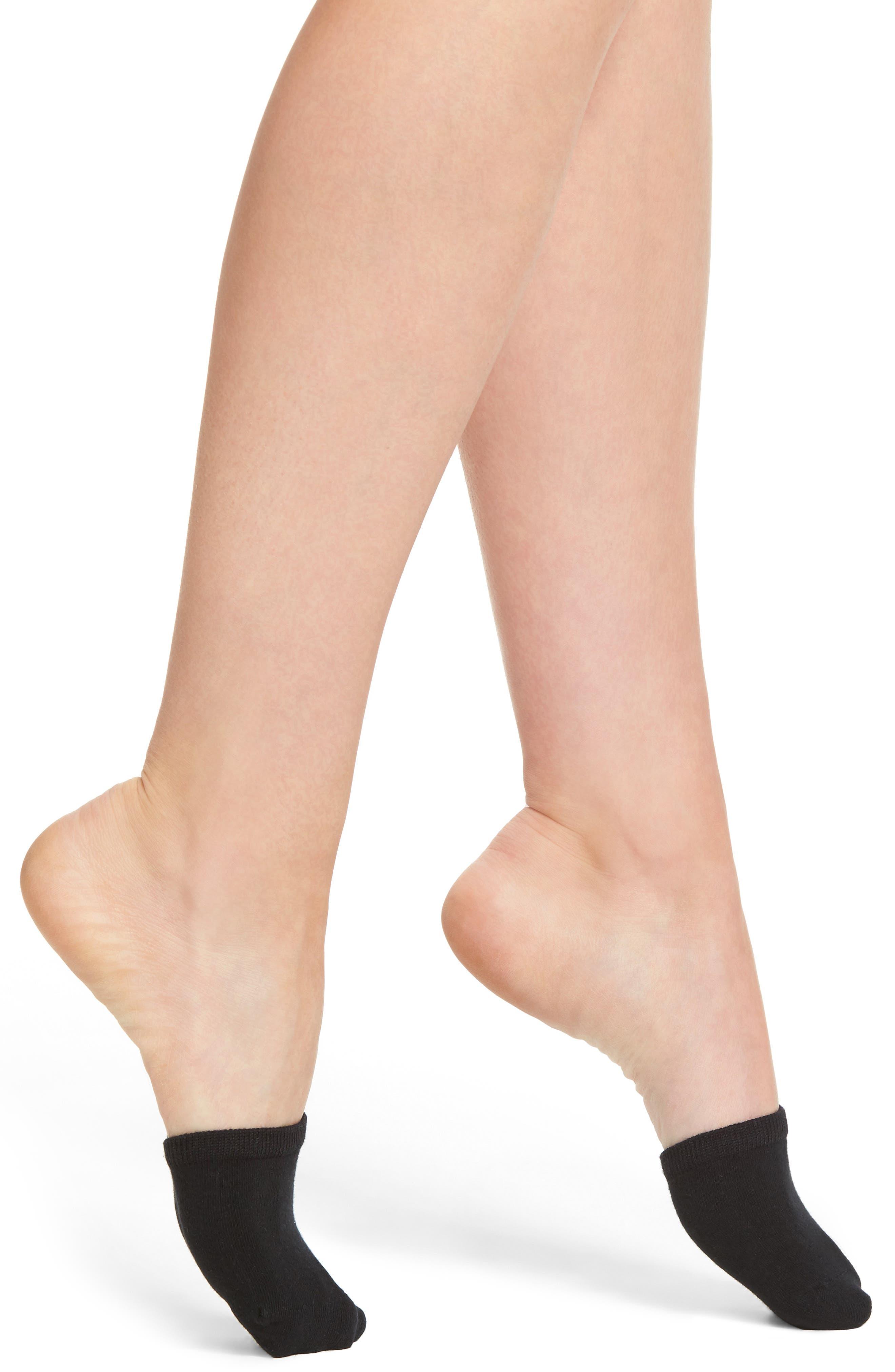 2-Pack Mule Socks,                         Main,                         color, Black