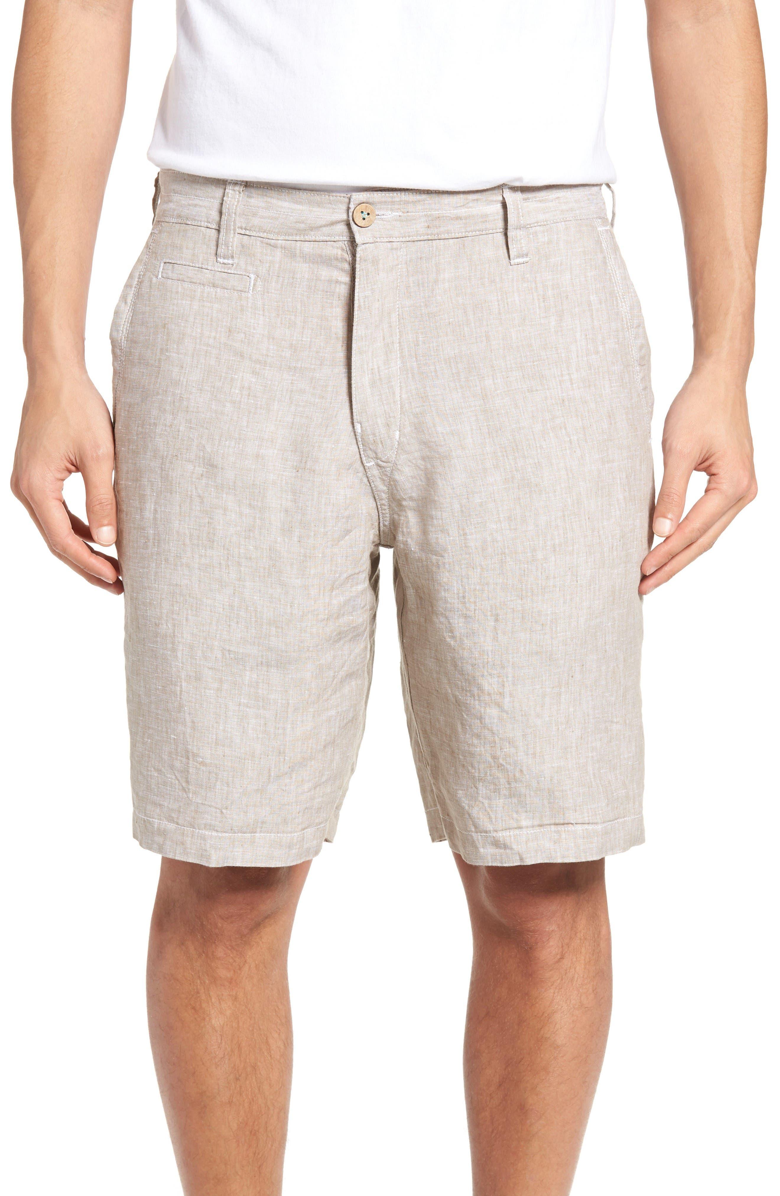 Alternate Image 4  - Tommy Bahama Island Duo Reversible Linen Shorts