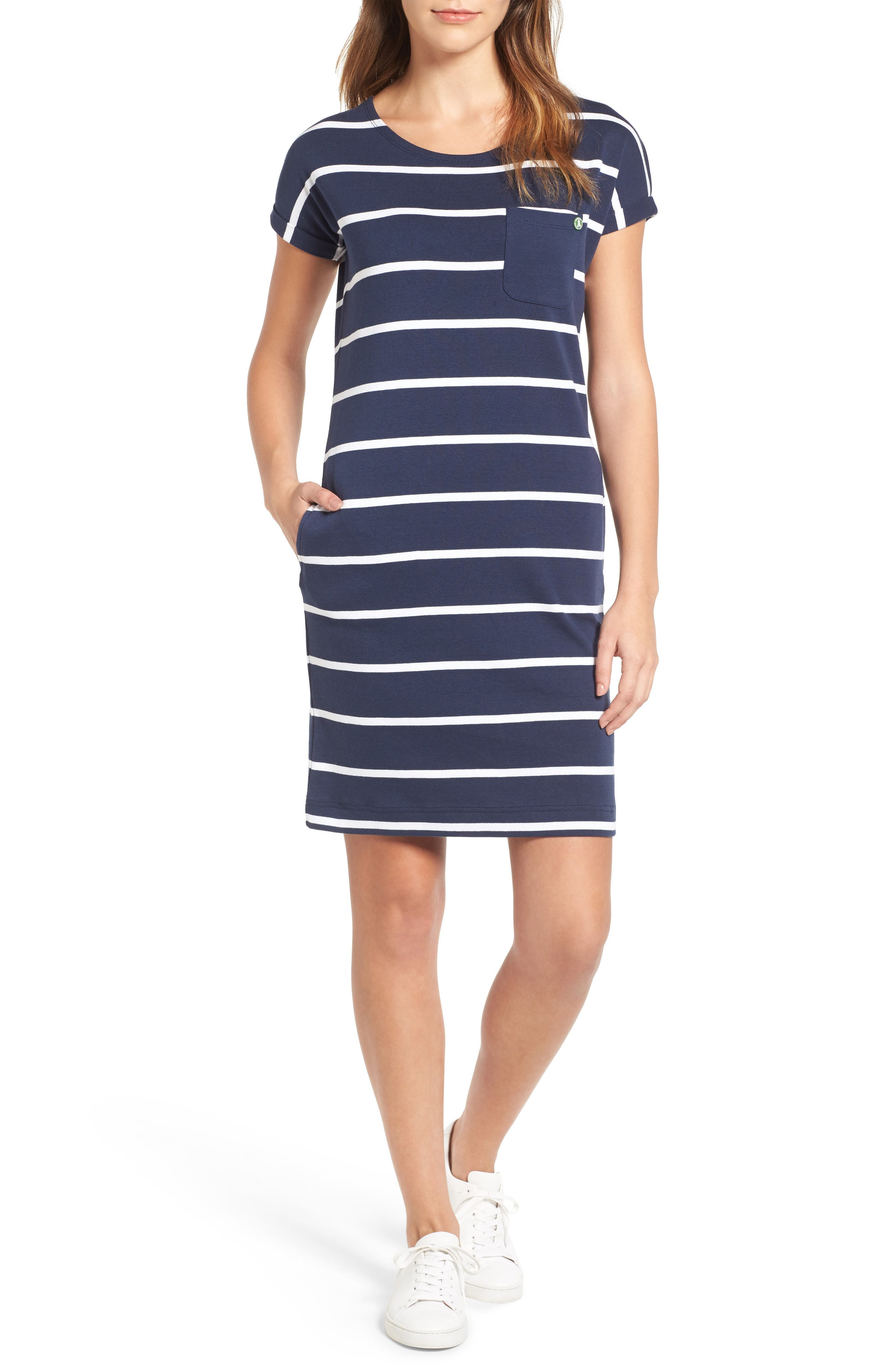 Blakeney T-Shirt Dress,                         Main,                         color, French Navy