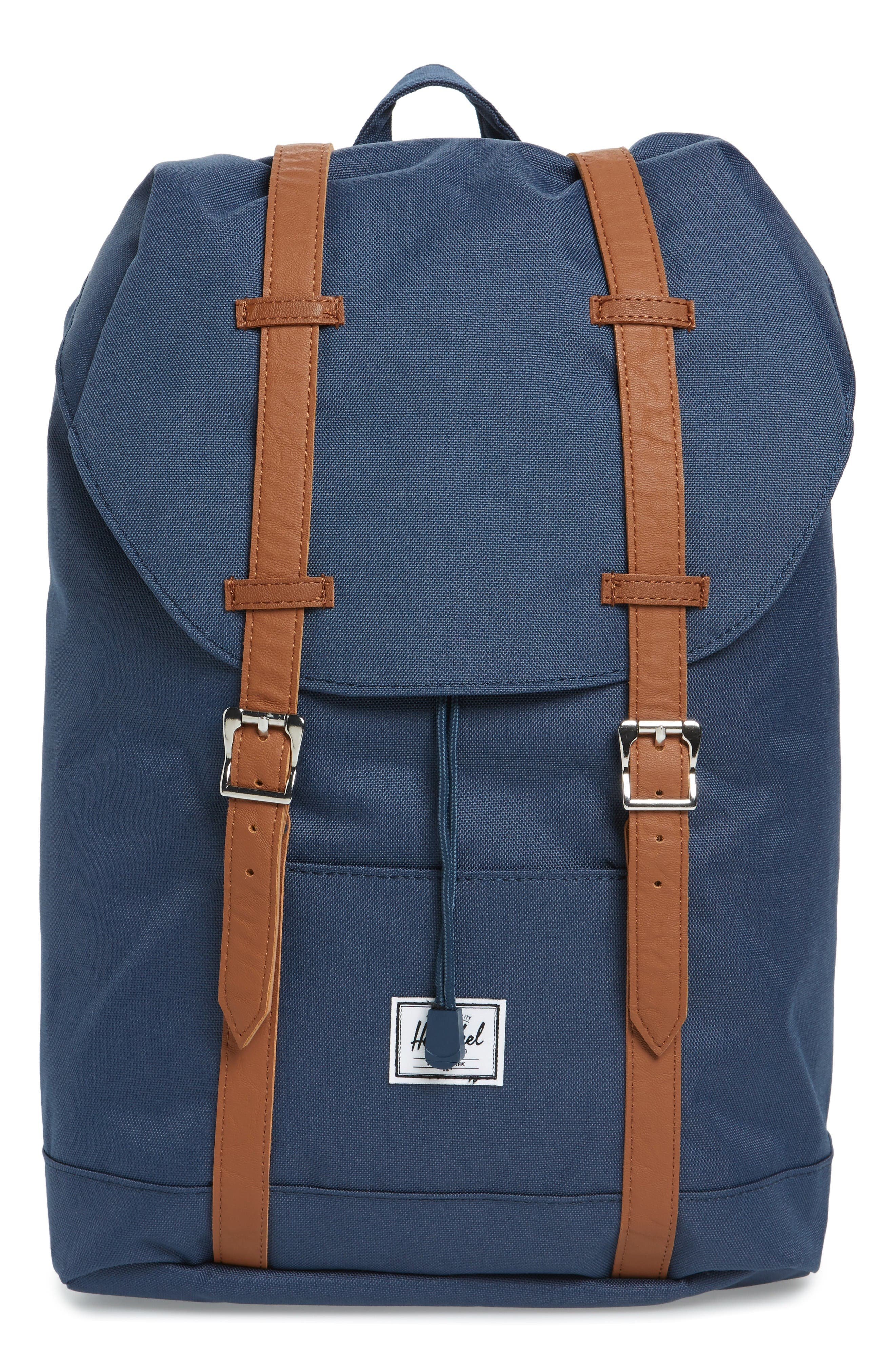 Retreat Mid Volume Backpack,                             Main thumbnail 1, color,                             Navy