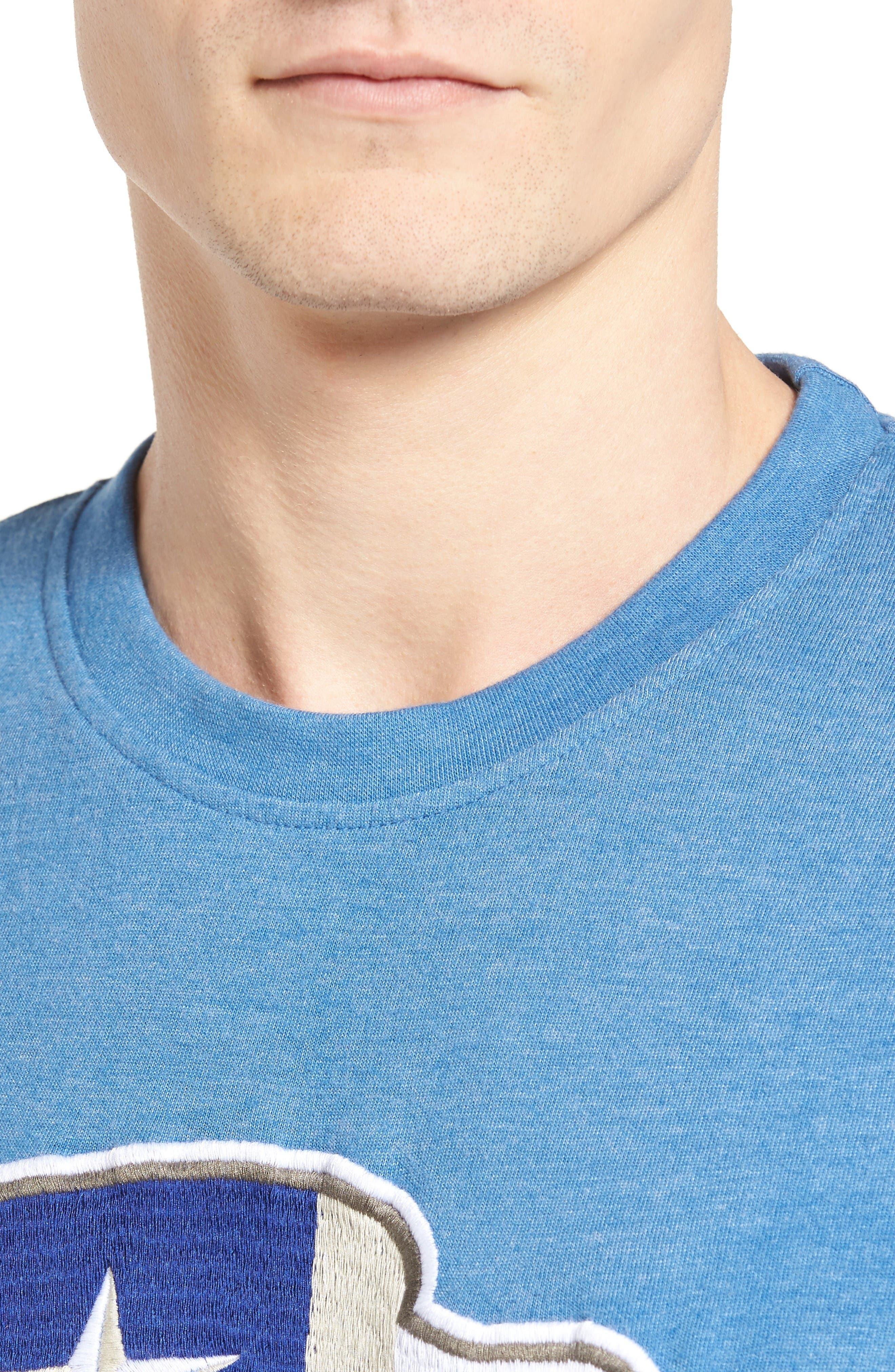 Alternate Image 4  - American Needle Hillwood Texas Rangers T-Shirt