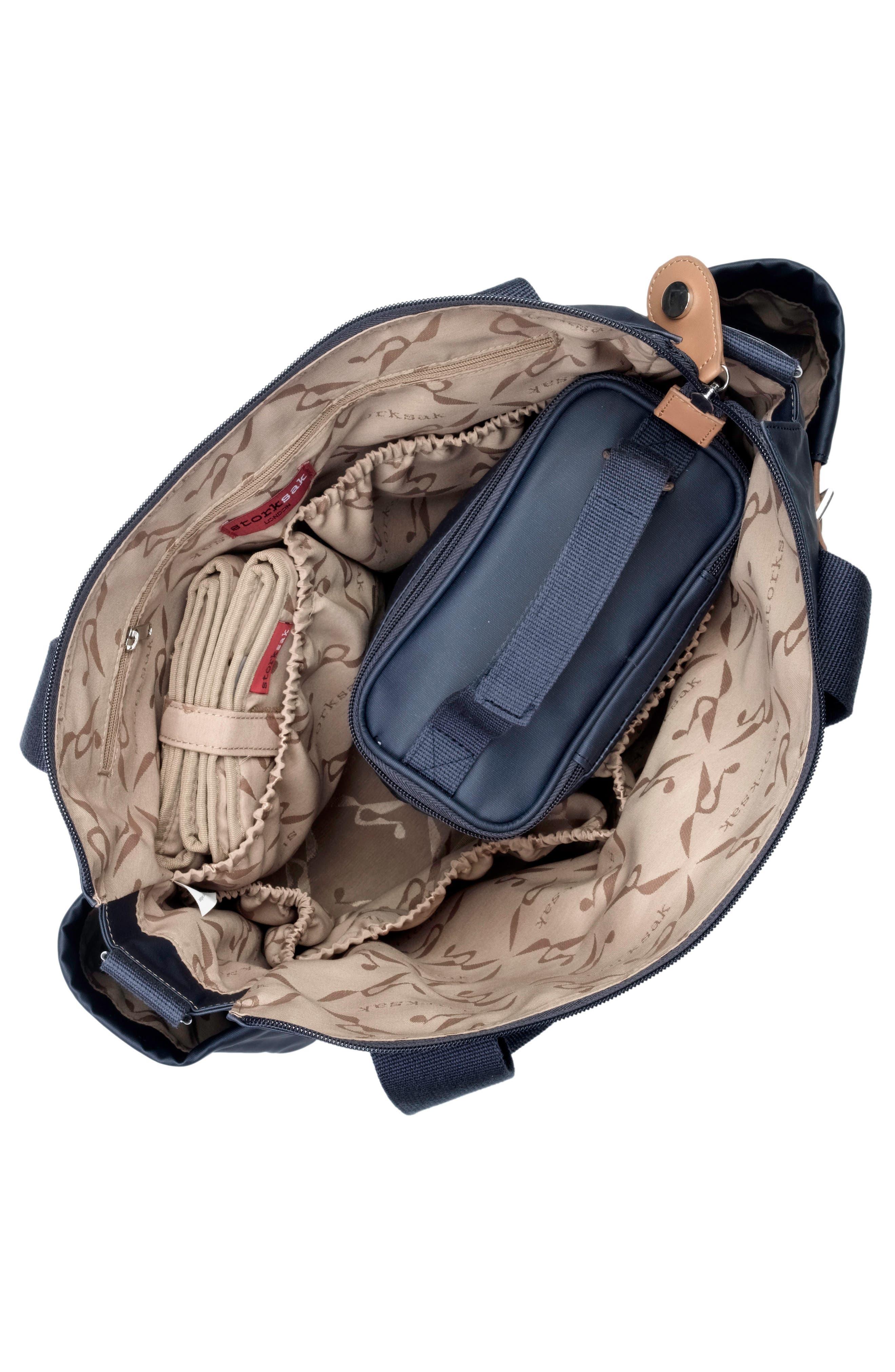 Alternate Image 4  - Storksak 'Kay' Diaper Bag