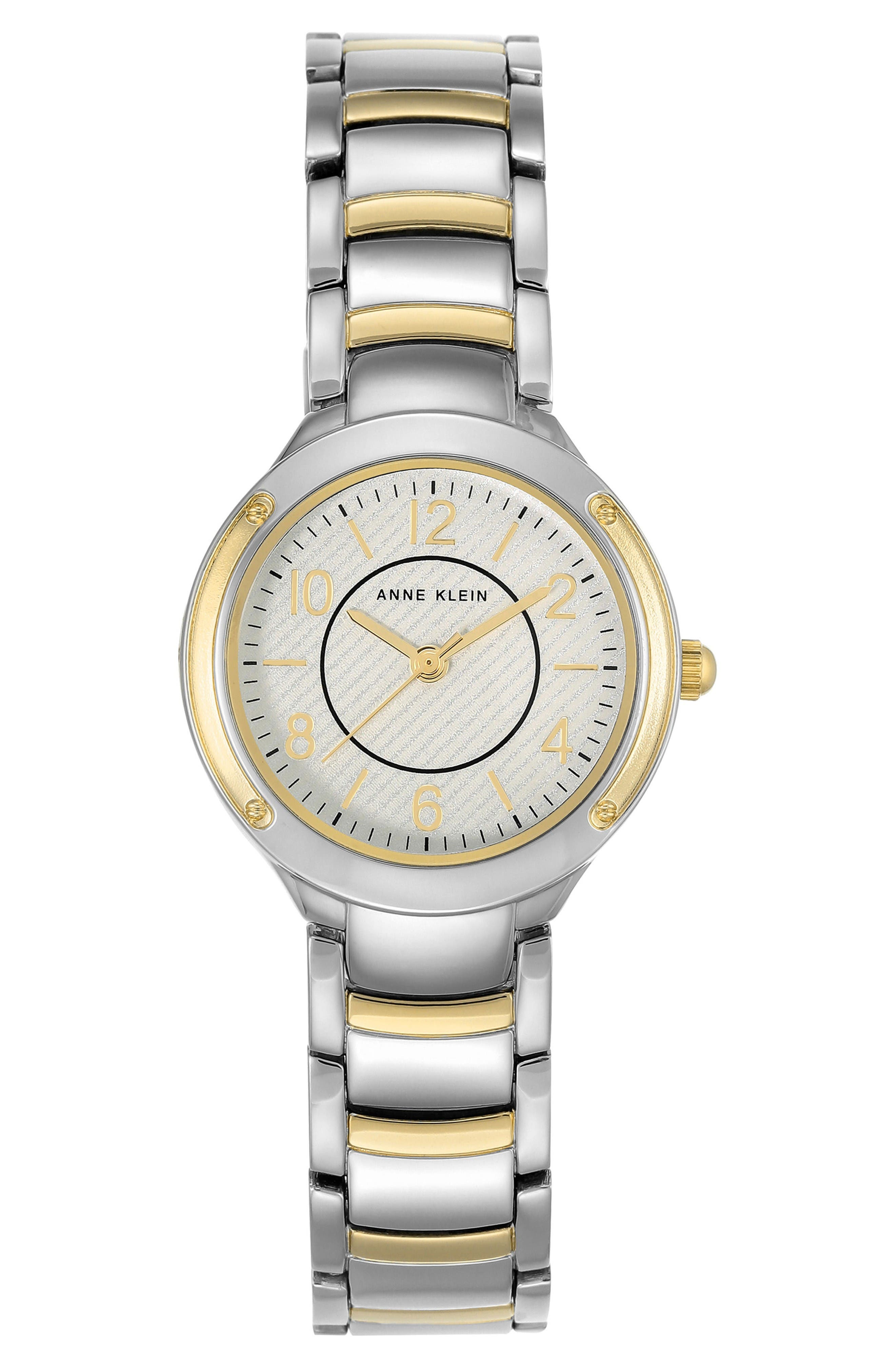 Bracelet Watch, 28mm,                         Main,                         color, Silver/ Gold