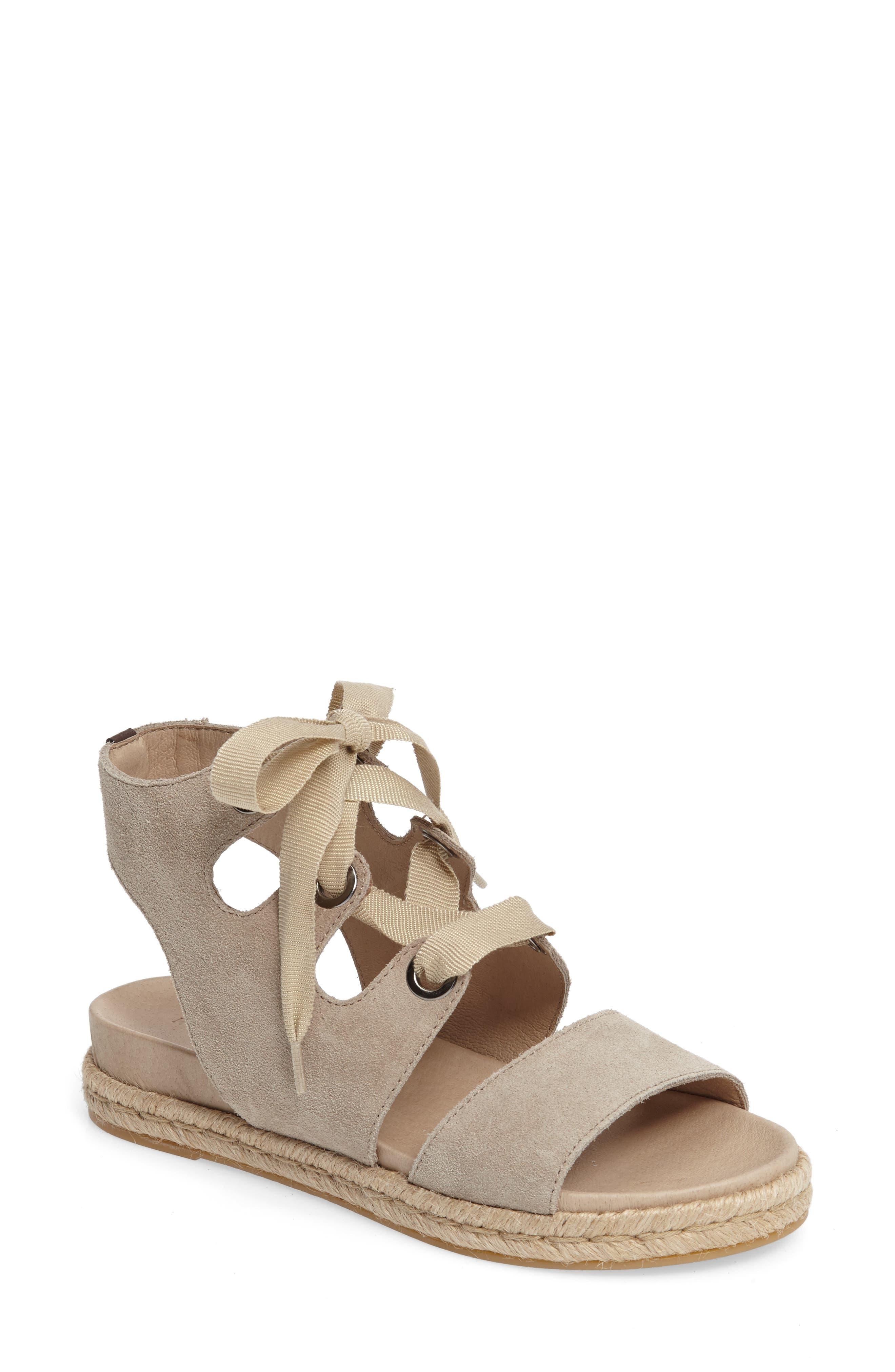Alternate Image 1 Selected - Rudsak Baptista Lace-Up Sandal (Women)
