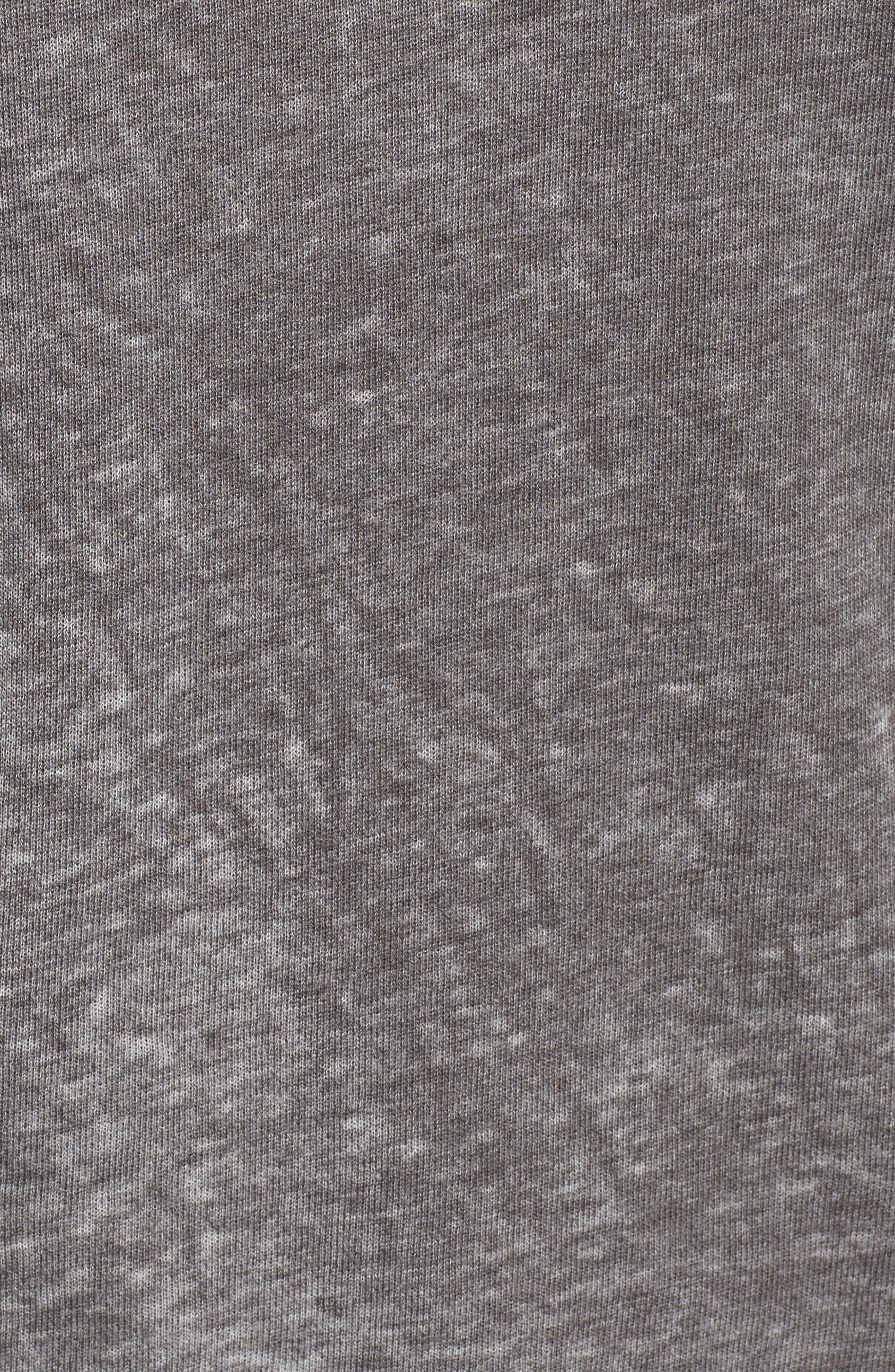 Original Burnout Sweatshirt,                             Alternate thumbnail 5, color,                             Pepper