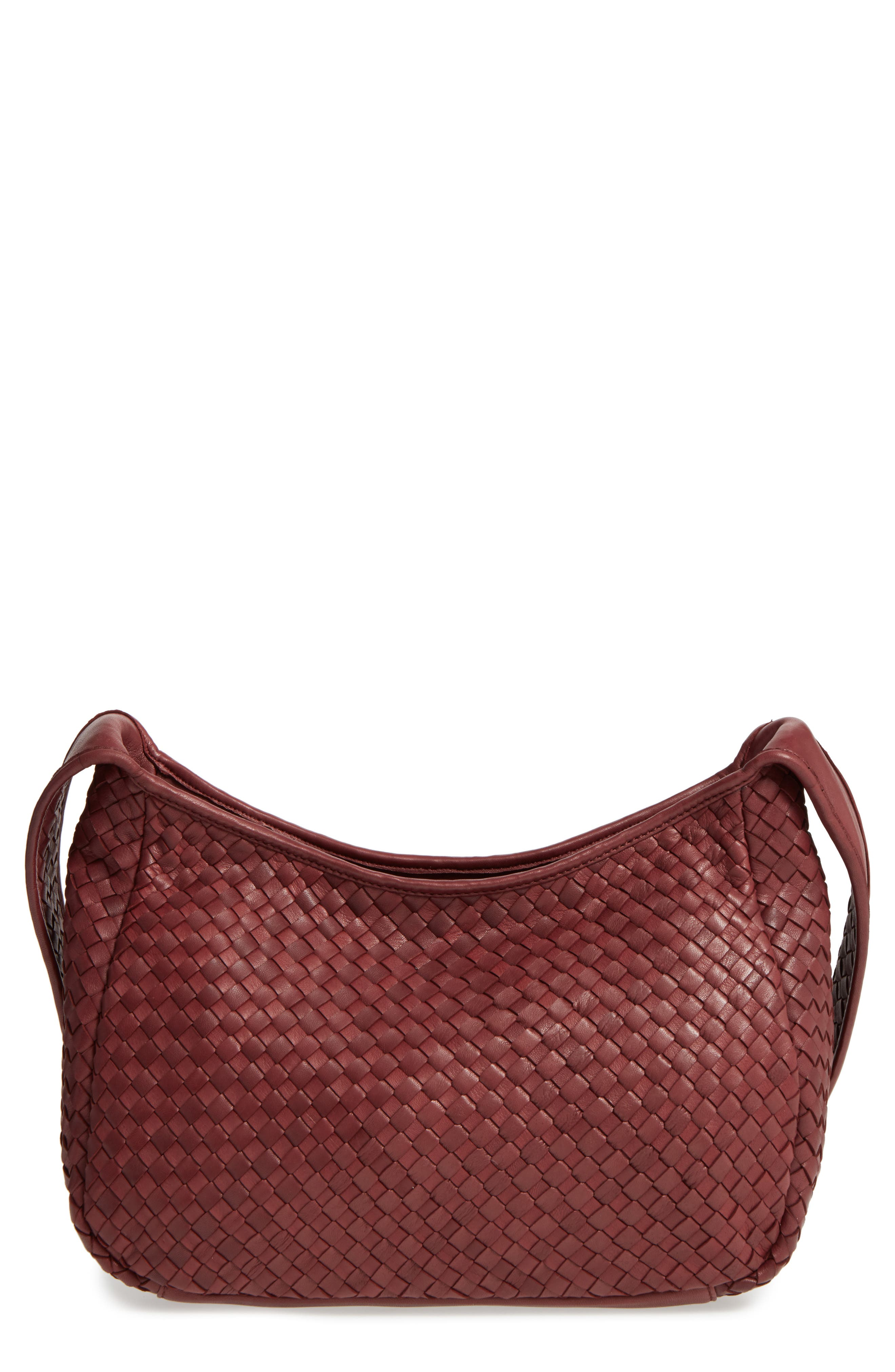 Alternate Image 1 Selected - Robert Zur Small Delia Leather Hobo