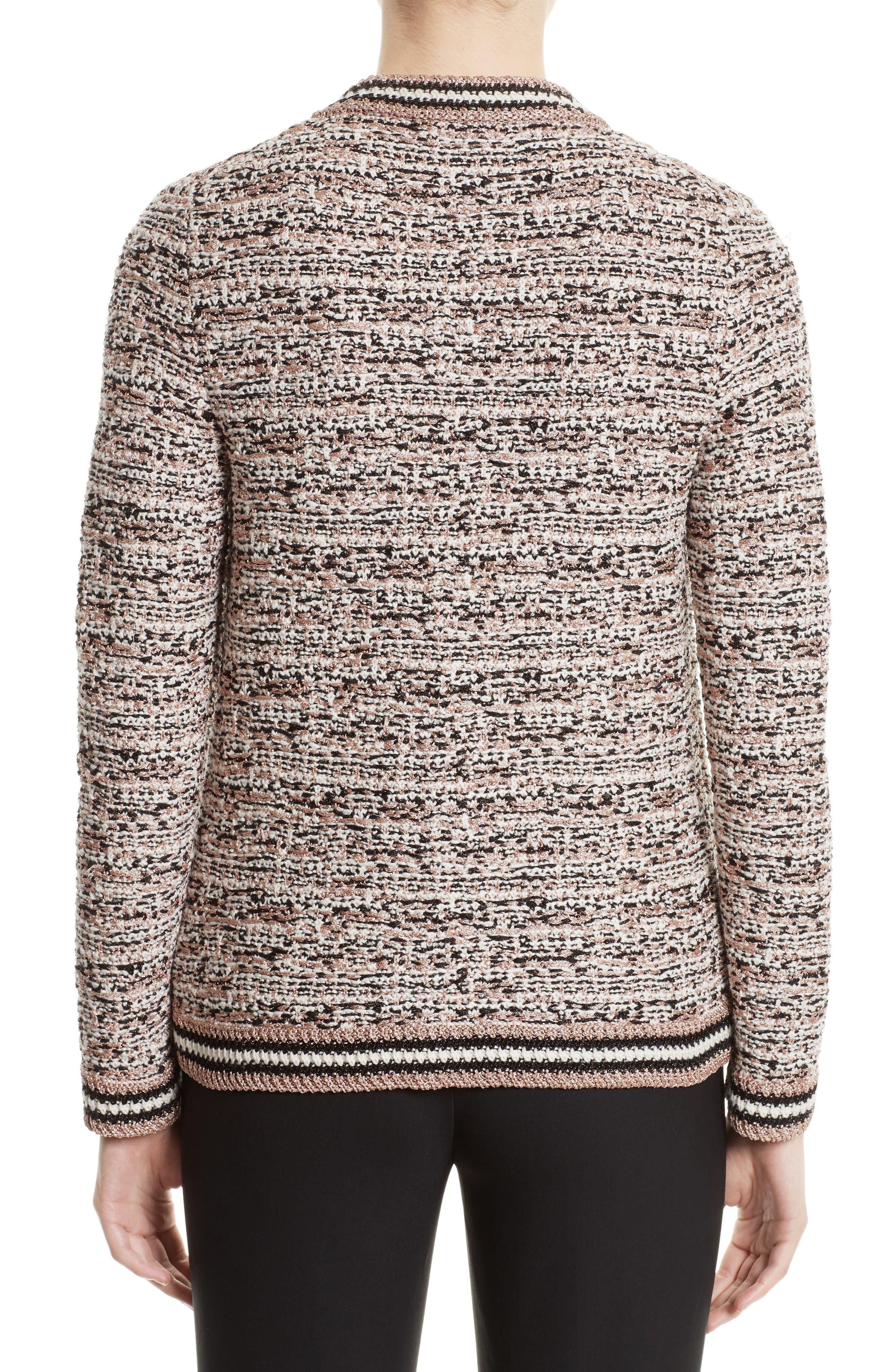 Alternate Image 2  - M Missoni Metallic Tweed Jacket