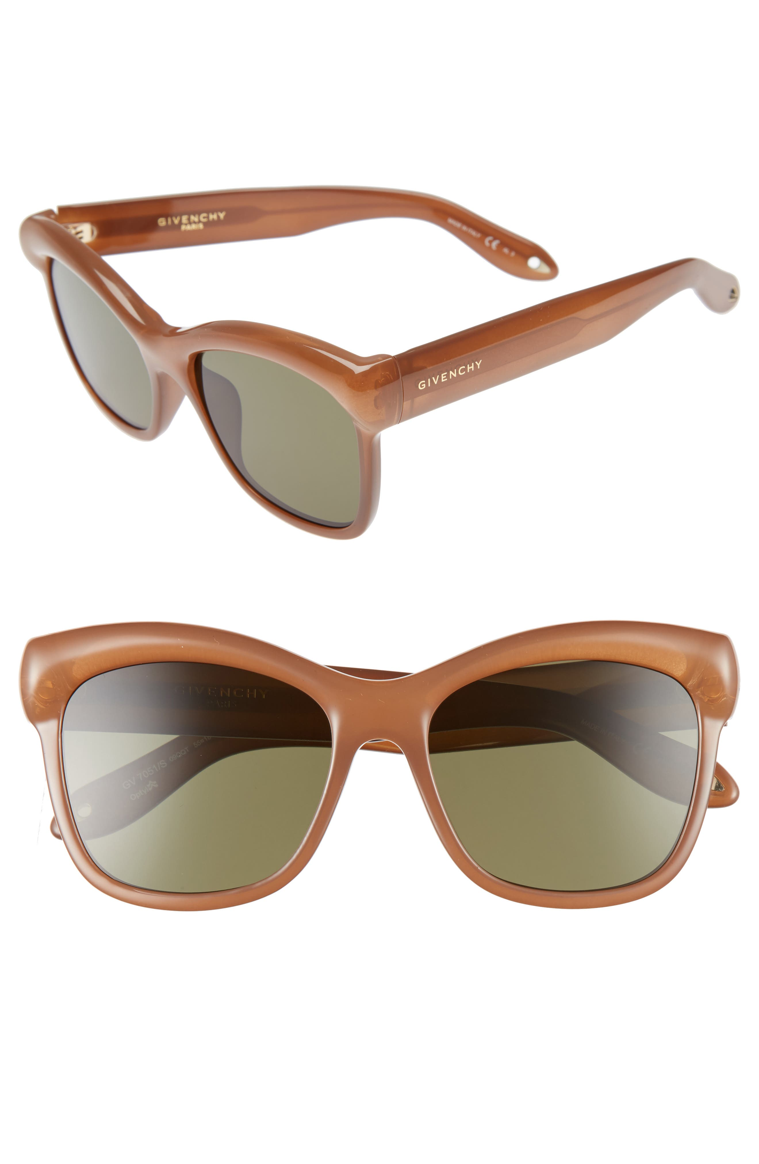 Alternate Image 1 Selected - Givenchy 55mm Retro Sunglasses