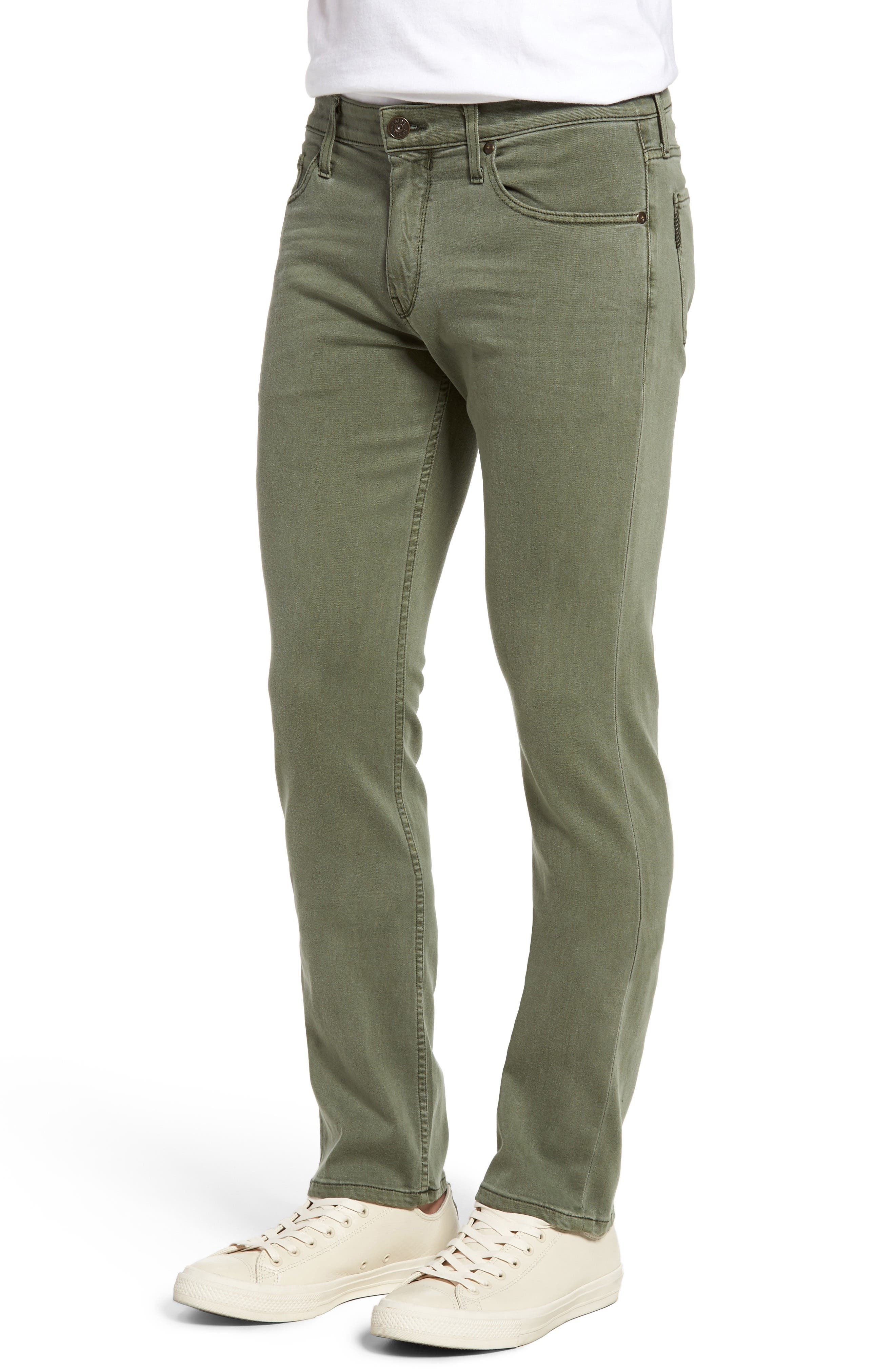 Alternate Image 3  - PAIGE Transcend - Federal Slim Straight Leg Jeans (Green House)