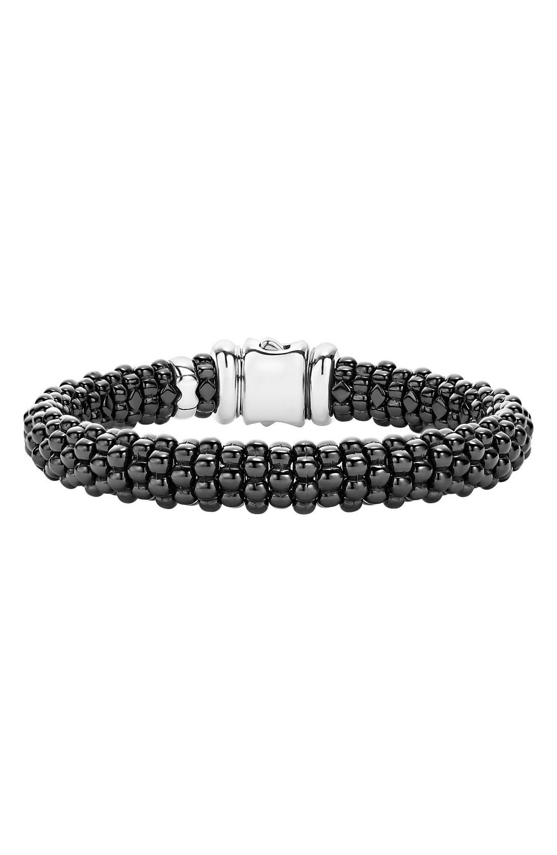 Alternate Image 1 Selected - LAGOS Black Caviar Bracelet
