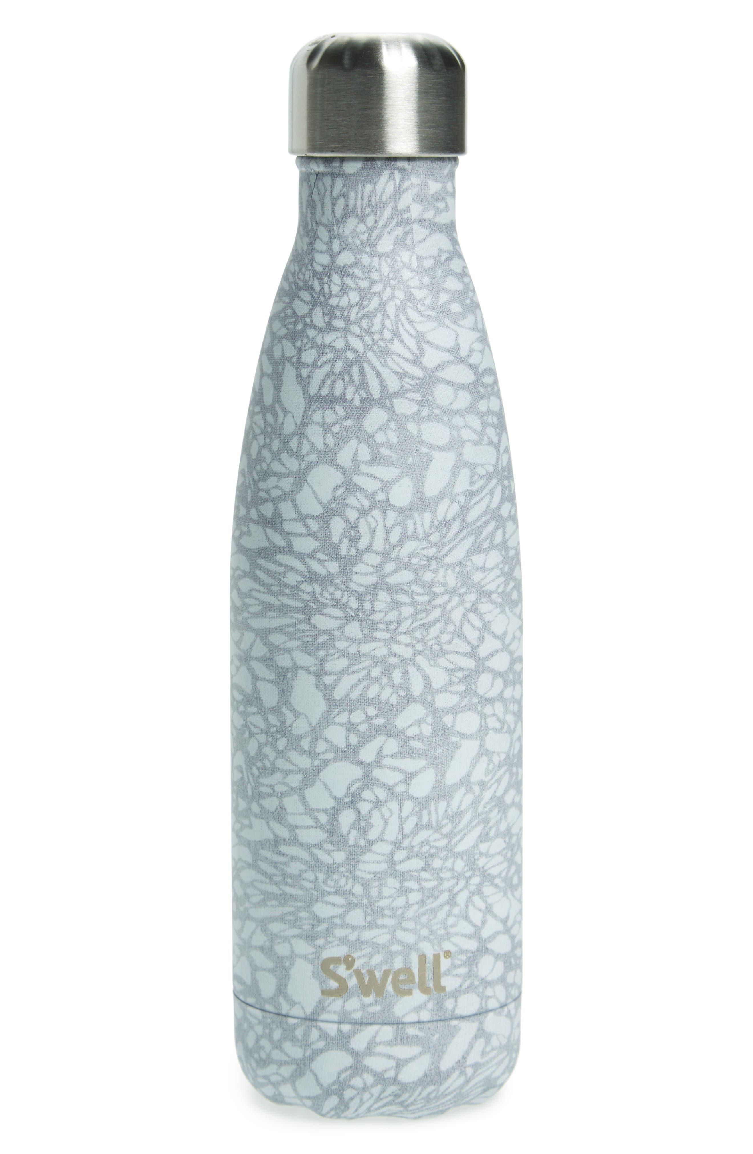 Alternate Image 1 Selected - S'well White Lace Insulated Stainless Steel Water Bottle