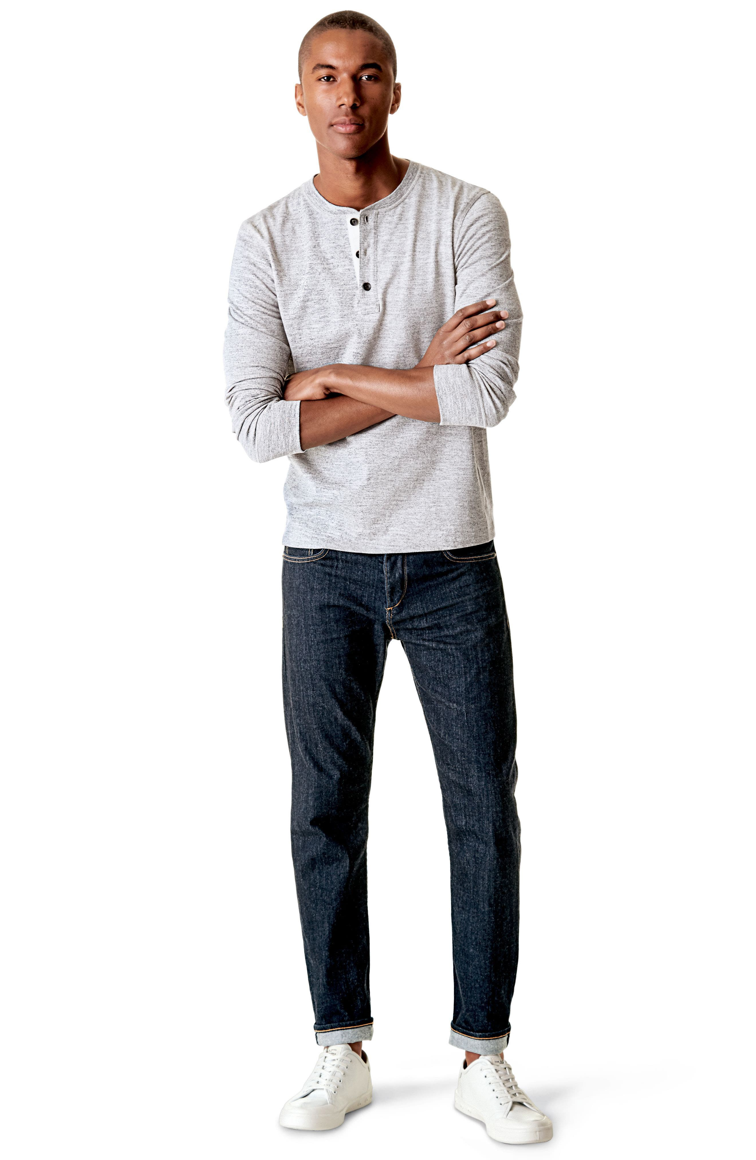 Standard Issue Fit 3 Slim Straight Leg Jeans,                             Alternate thumbnail 8, color,