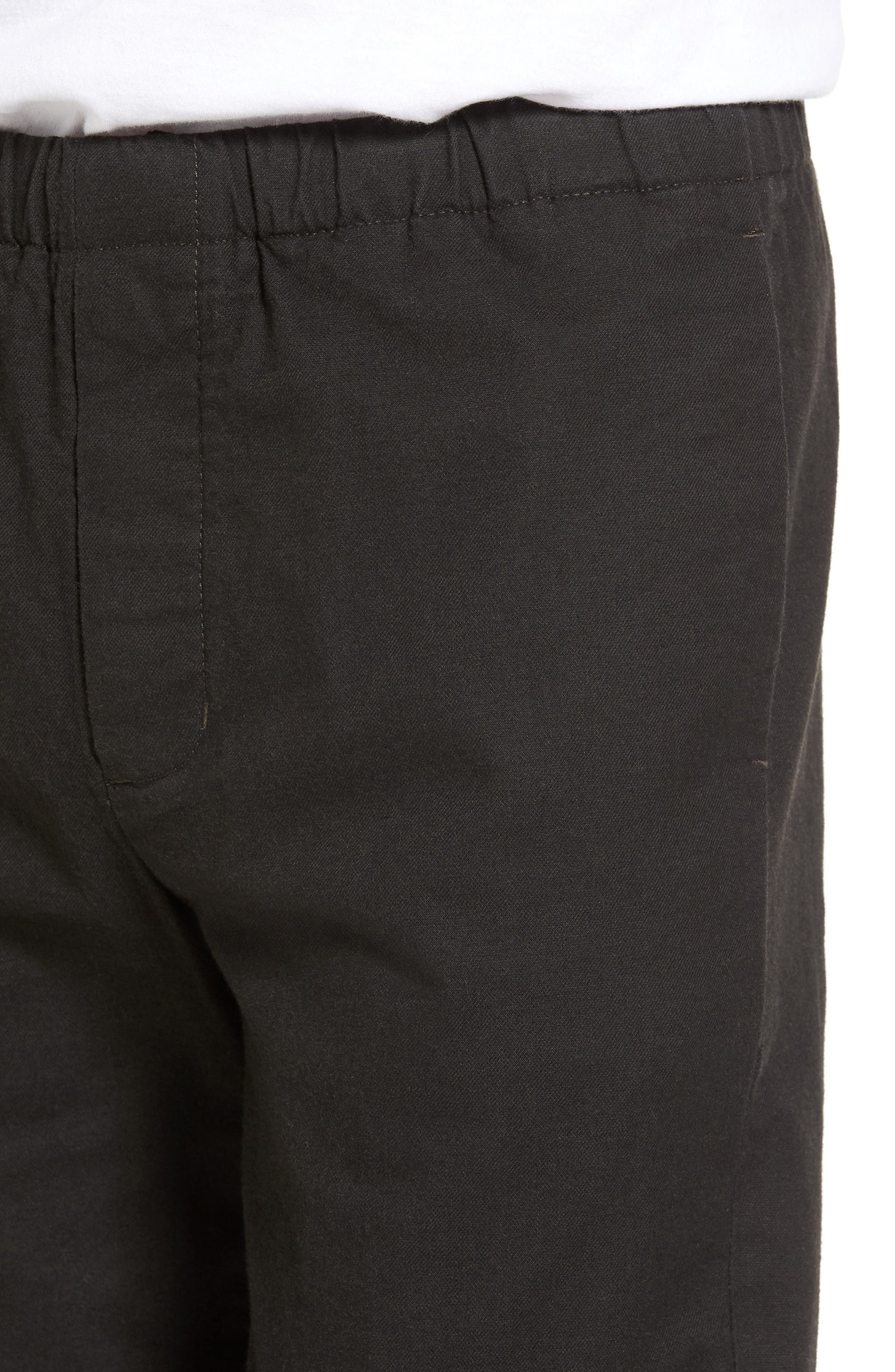 Relaxed Pants,                             Alternate thumbnail 4, color,                             Coal