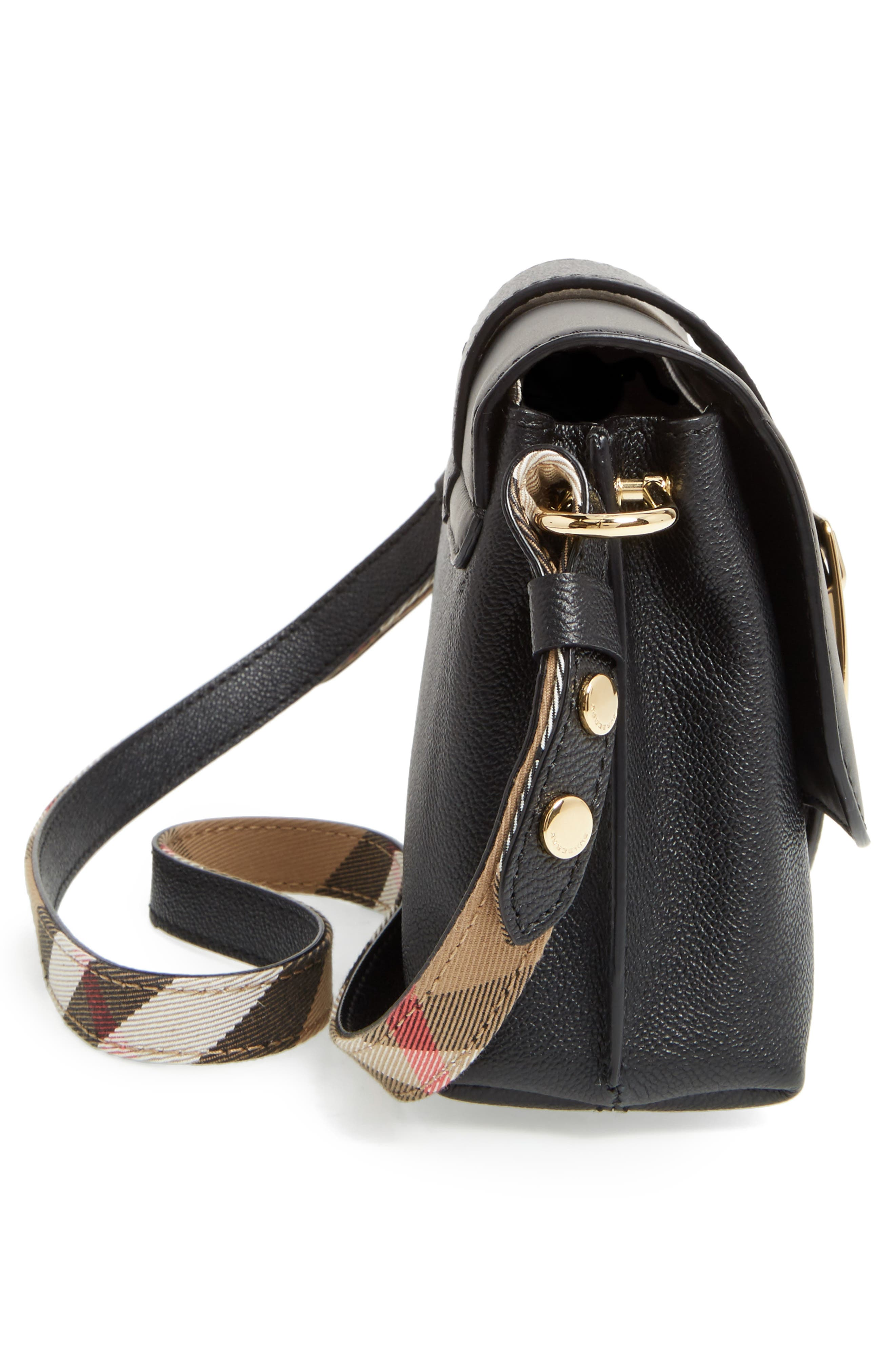 Alternate Image 5  - Burberry Small Medley Leather Crossbody Bag