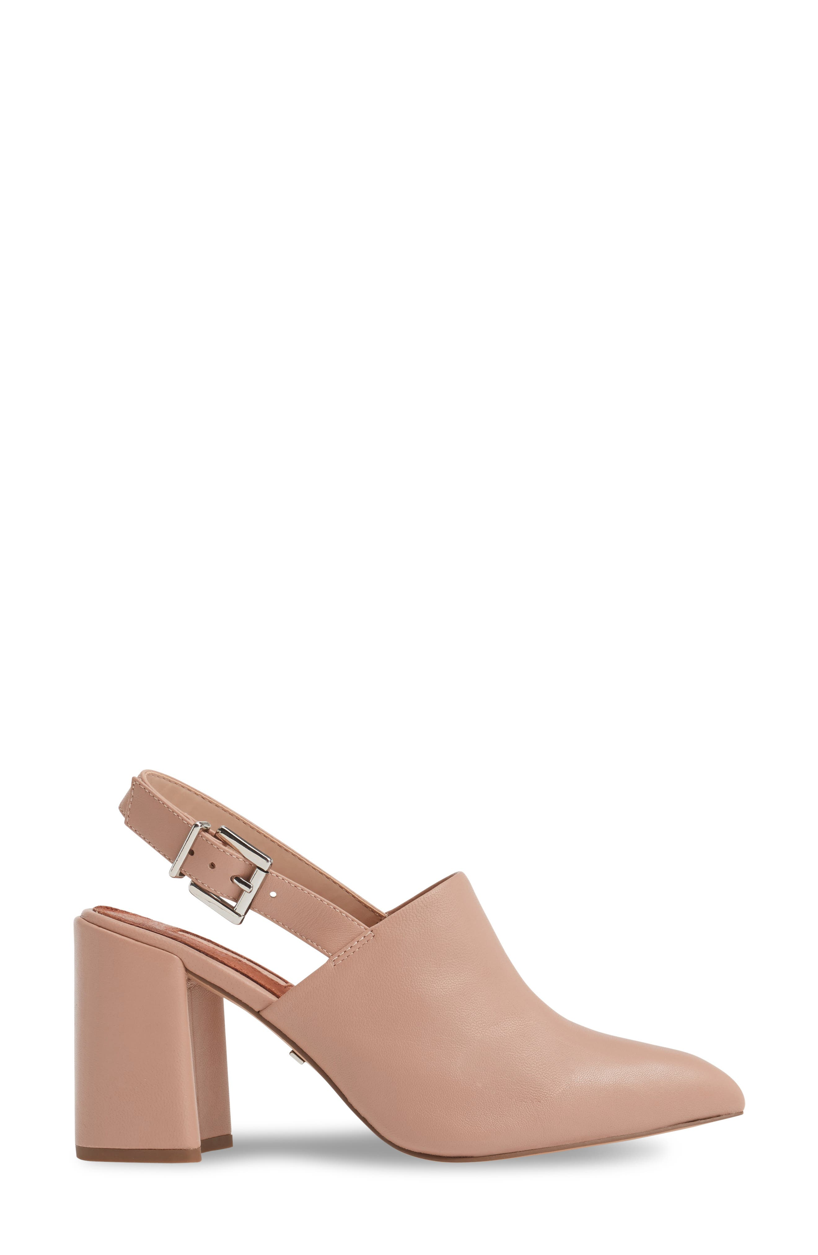 Alternate Image 3  - Topshop Groove Block Heel Pump (Women)
