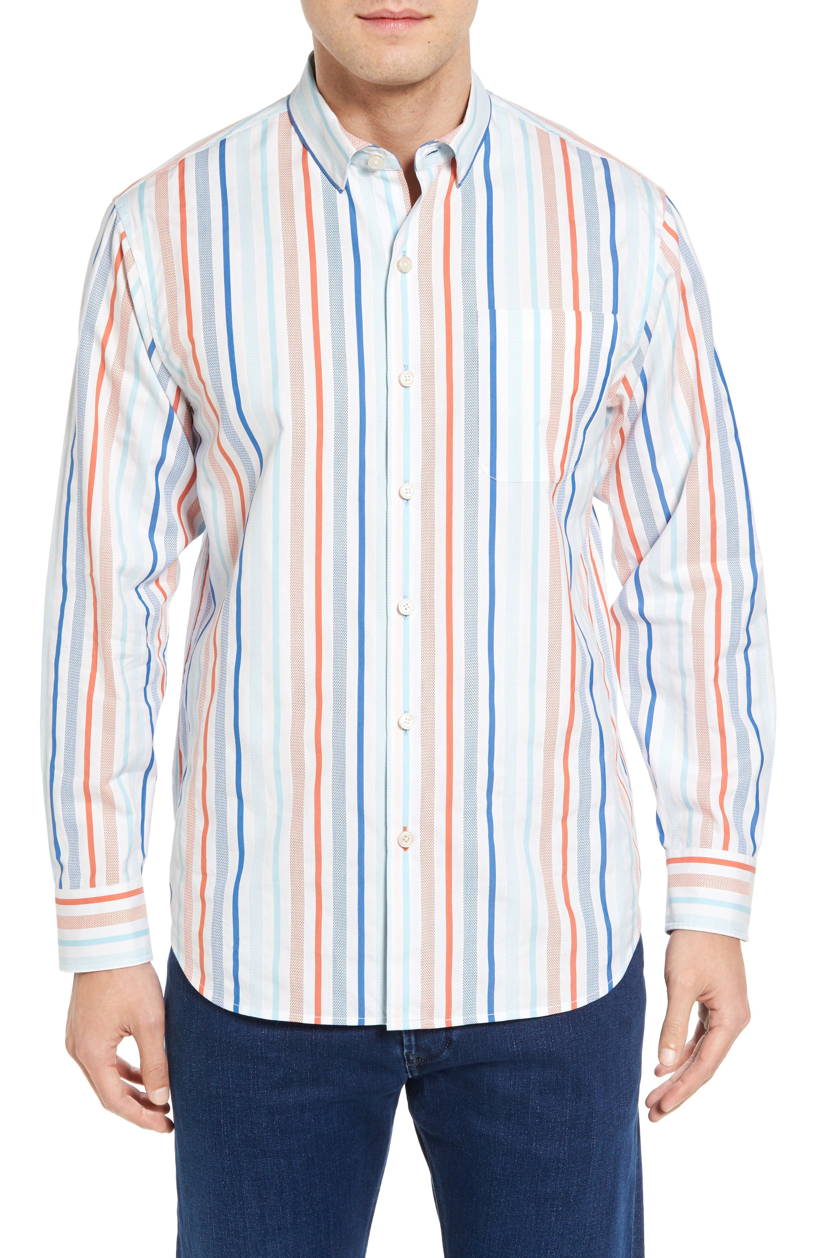 TOMMY BAHAMA Demeter Stripe Sport Shirt