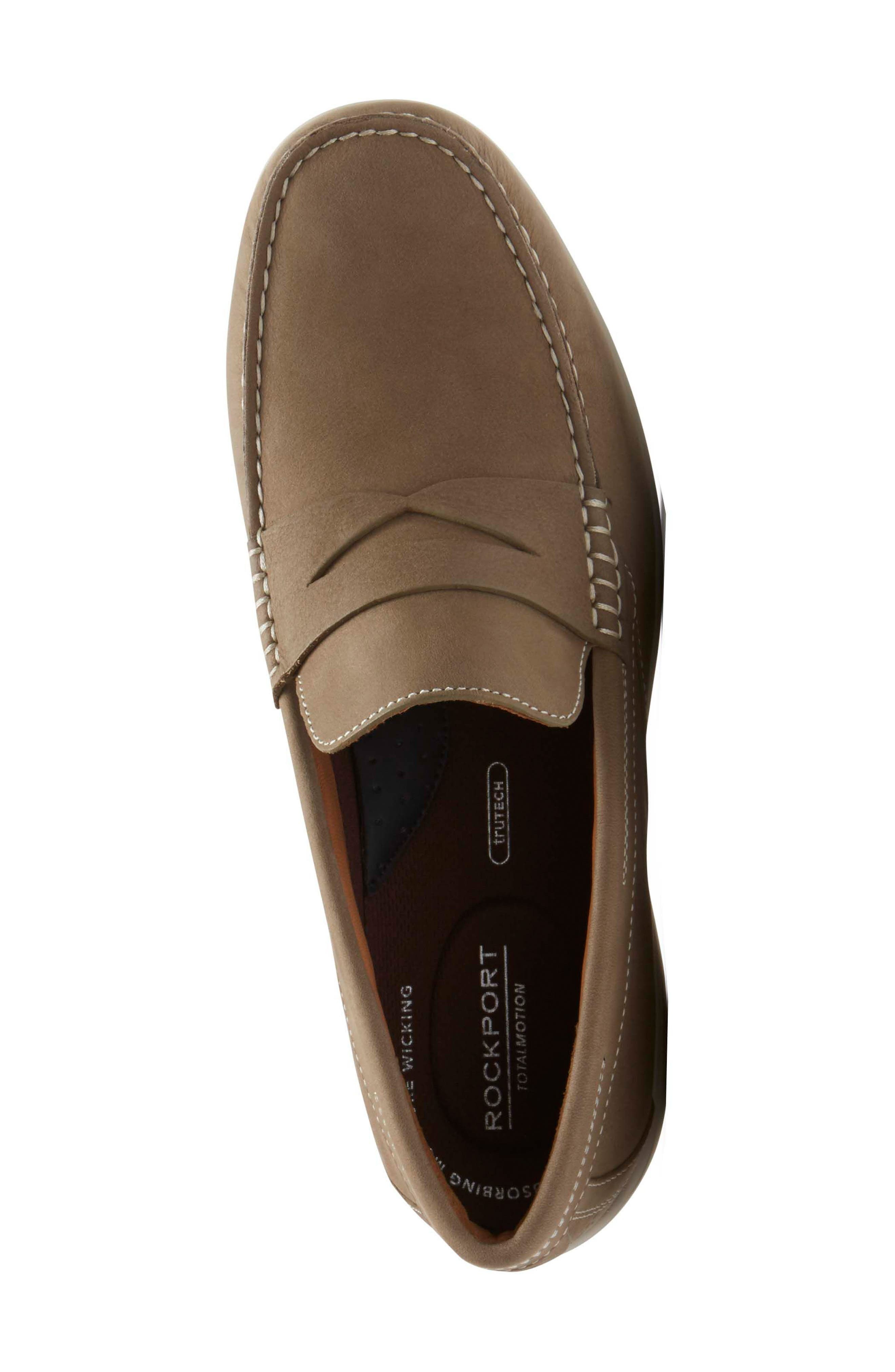 Alternate Image 4  - Rockport Total Motion Penny Loafer (Men)