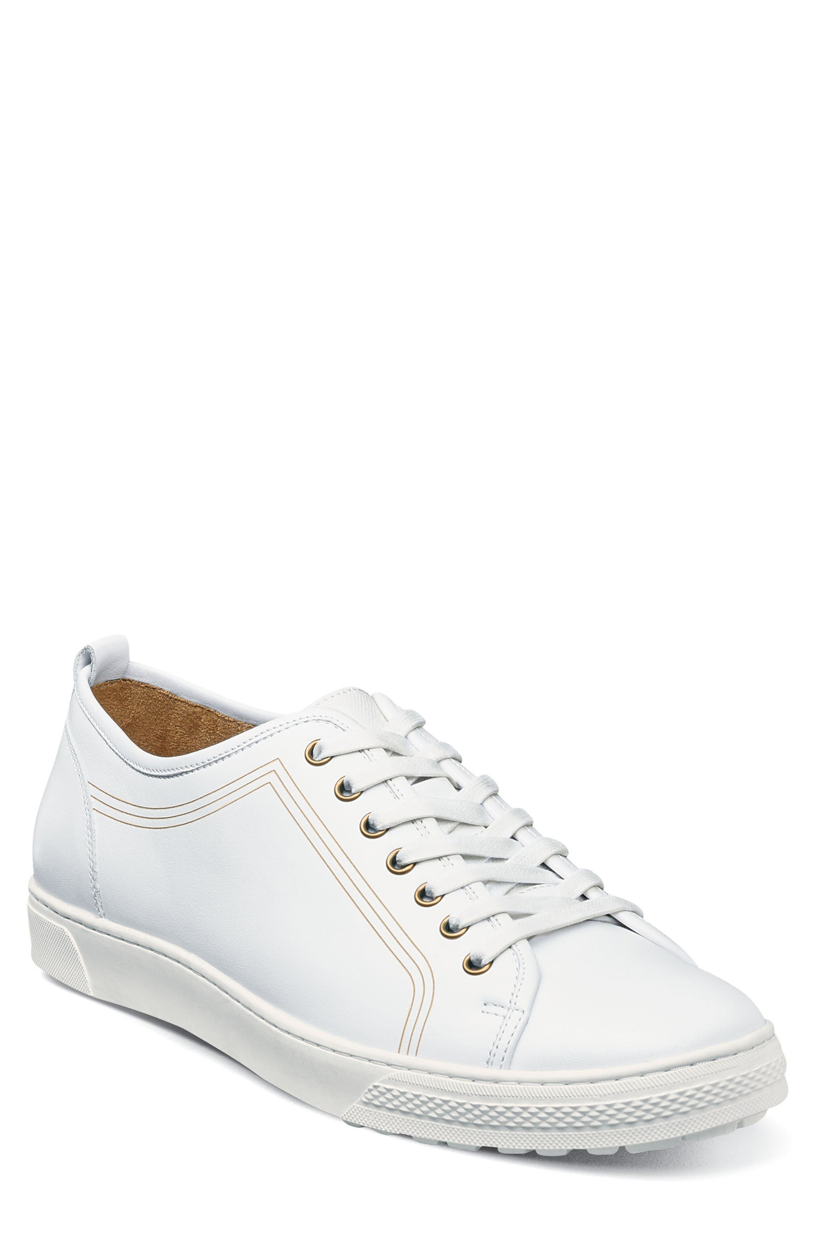 Forward Lo Sneaker,                             Main thumbnail 1, color,                             White Leather