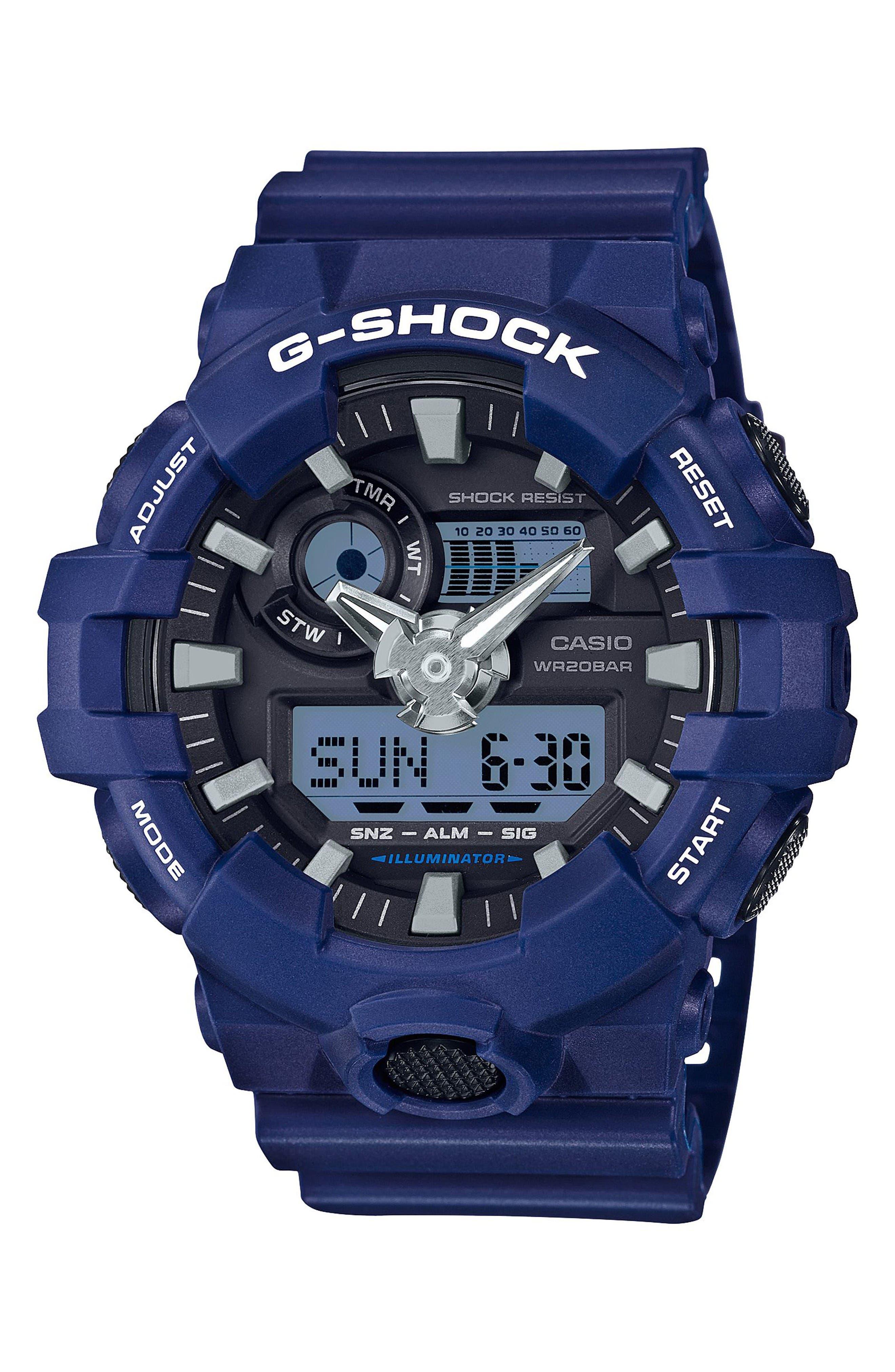 G-Shock GA700 Ana-Digi Watch, 57.5mm