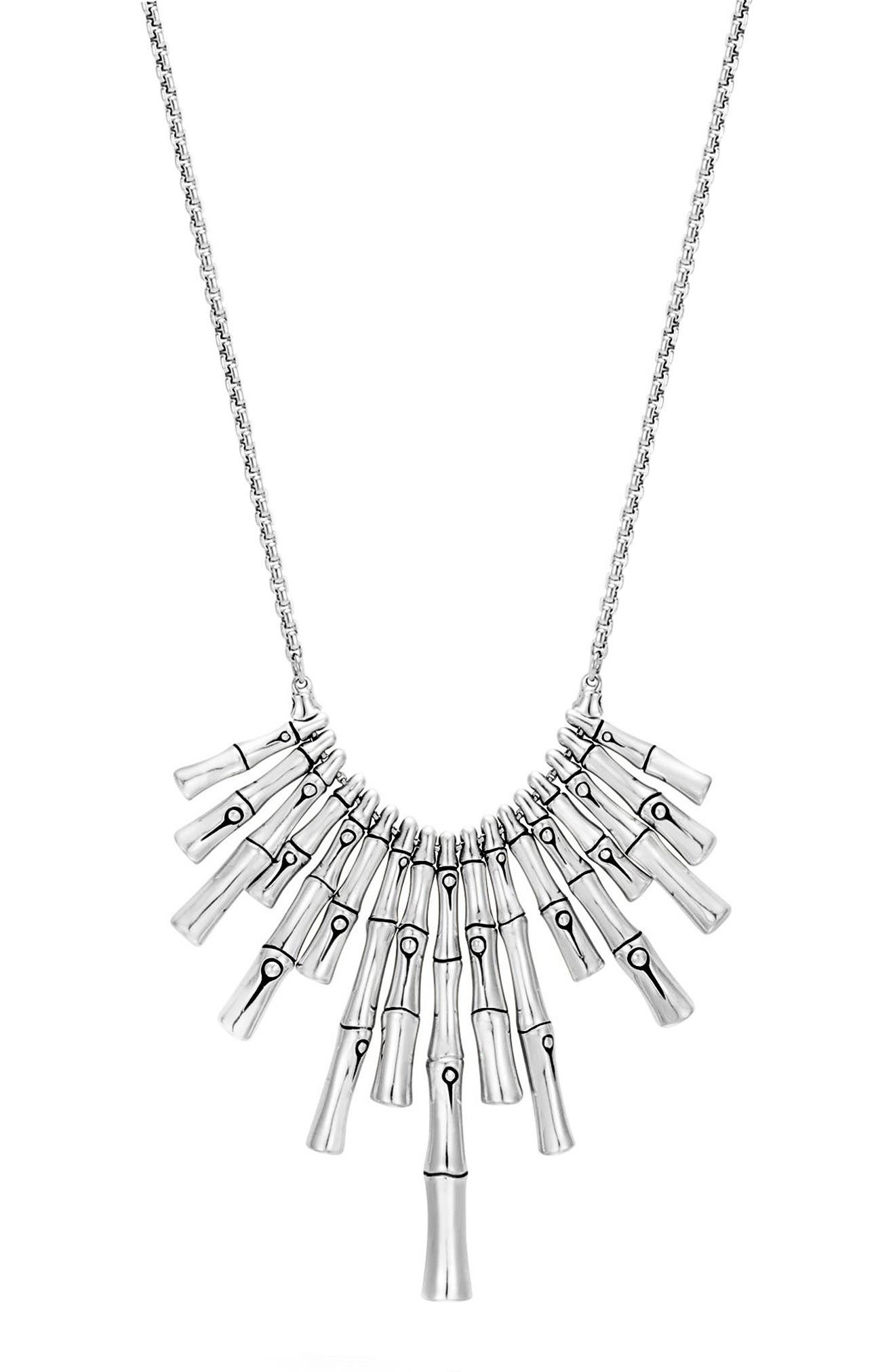 Main Image - John Hardy Bamboo Pendant Necklace