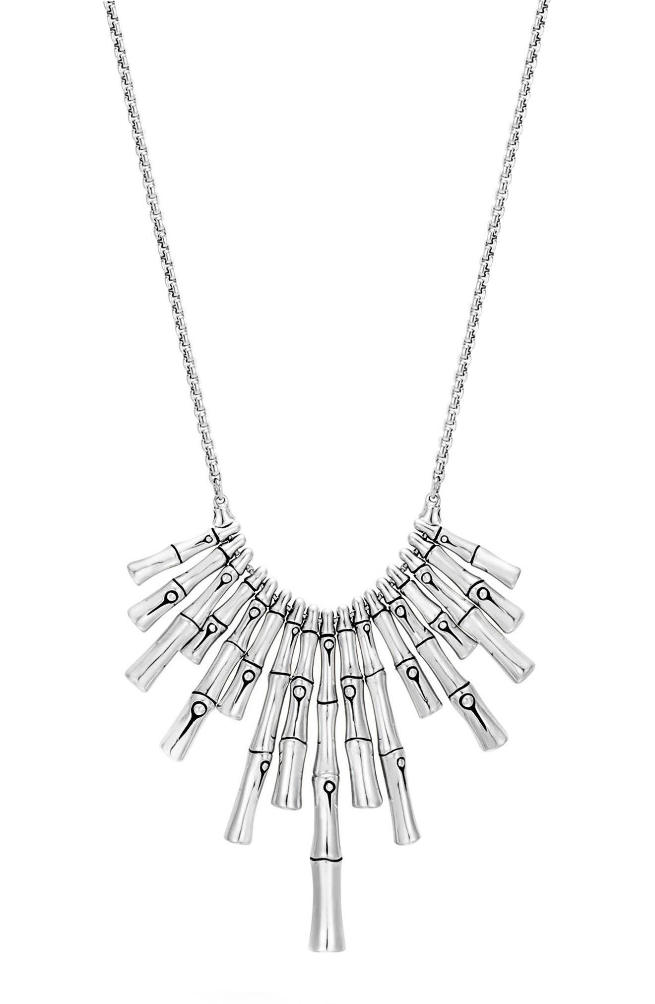 John Hardy Bamboo Pendant Necklace
