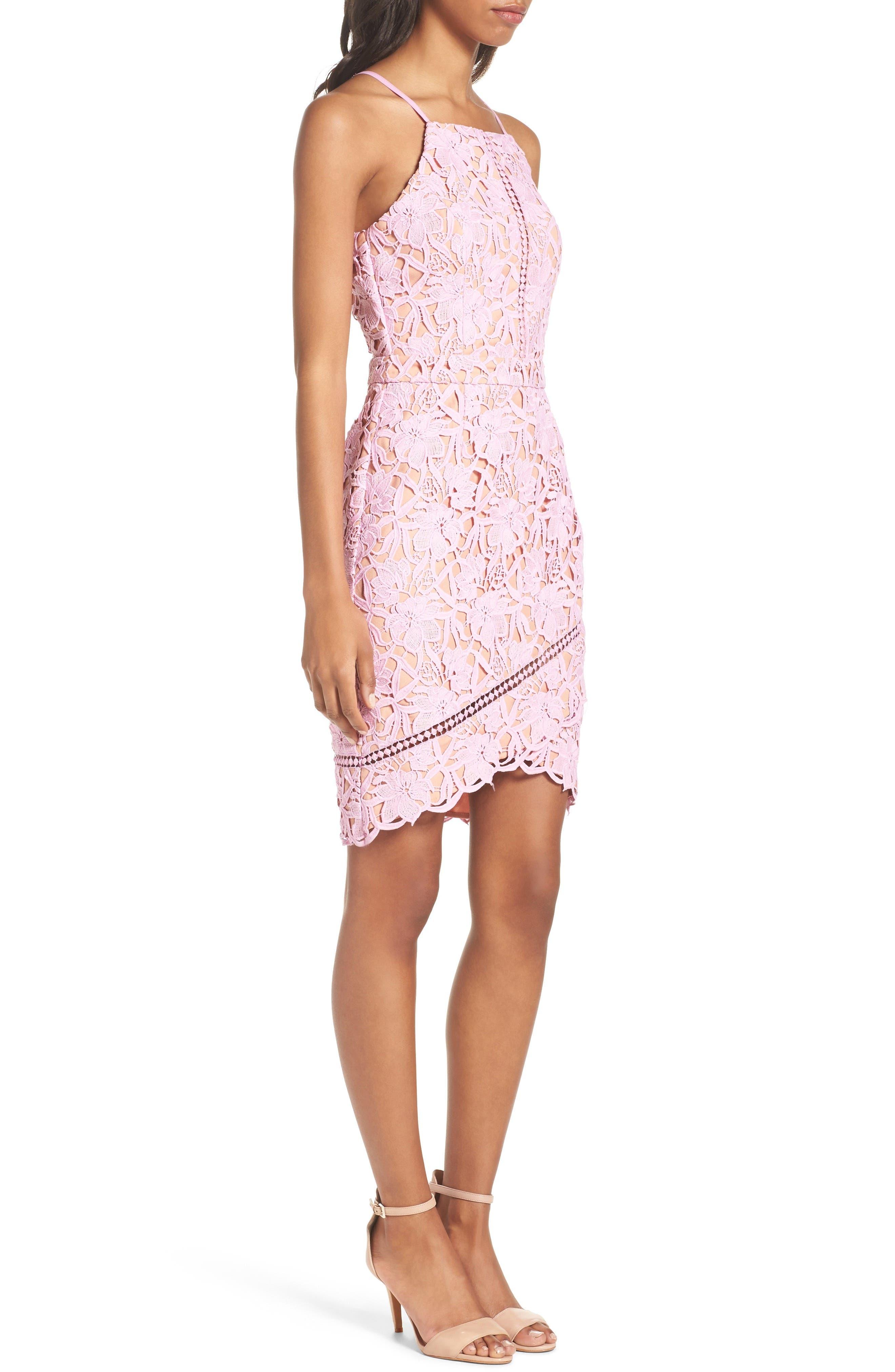 Alternate Image 3  - Adelyn Rae Lace Sheath Dress