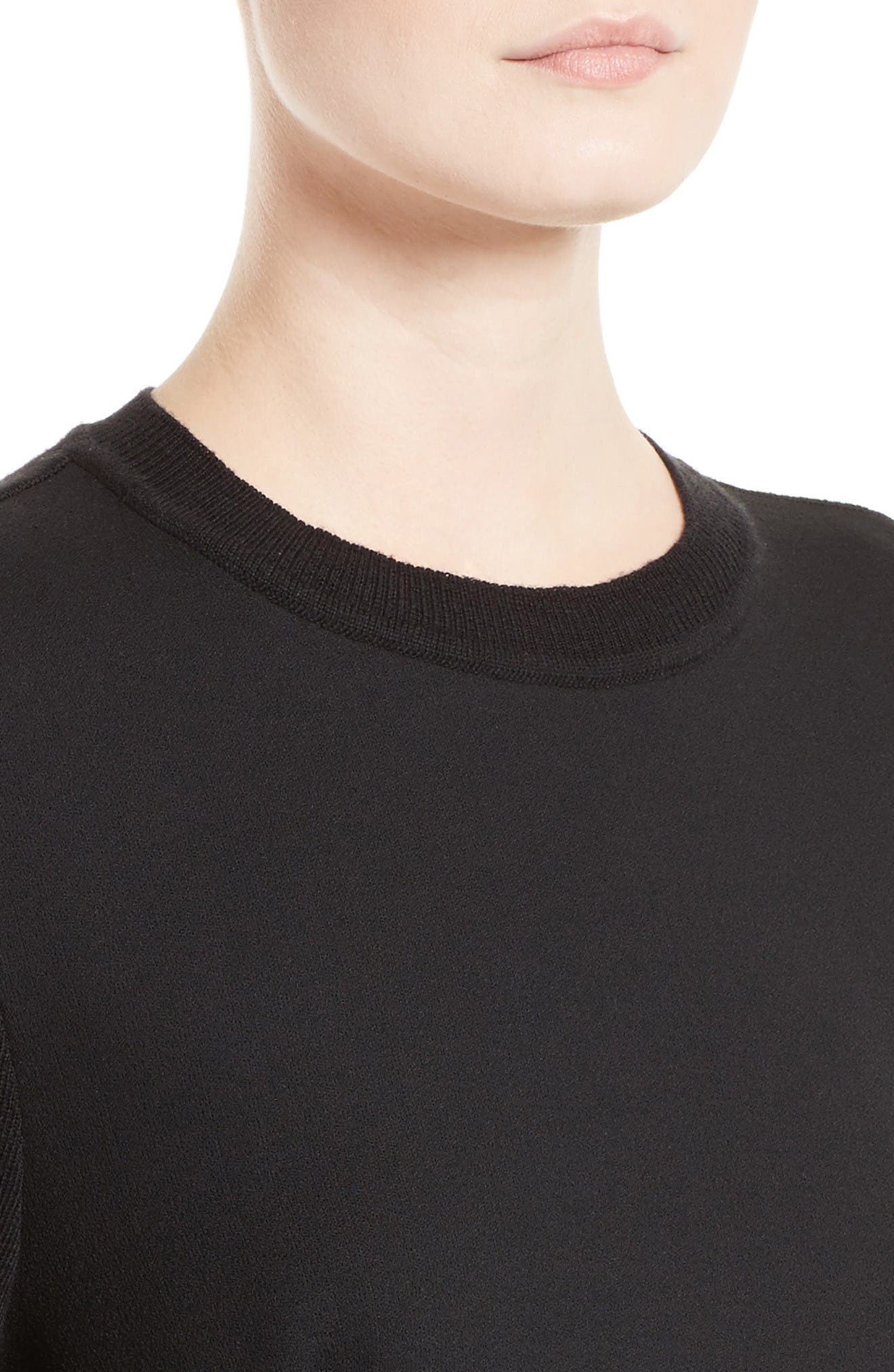 Alternate Image 5  - Marni Ruffle Crewneck Sweater