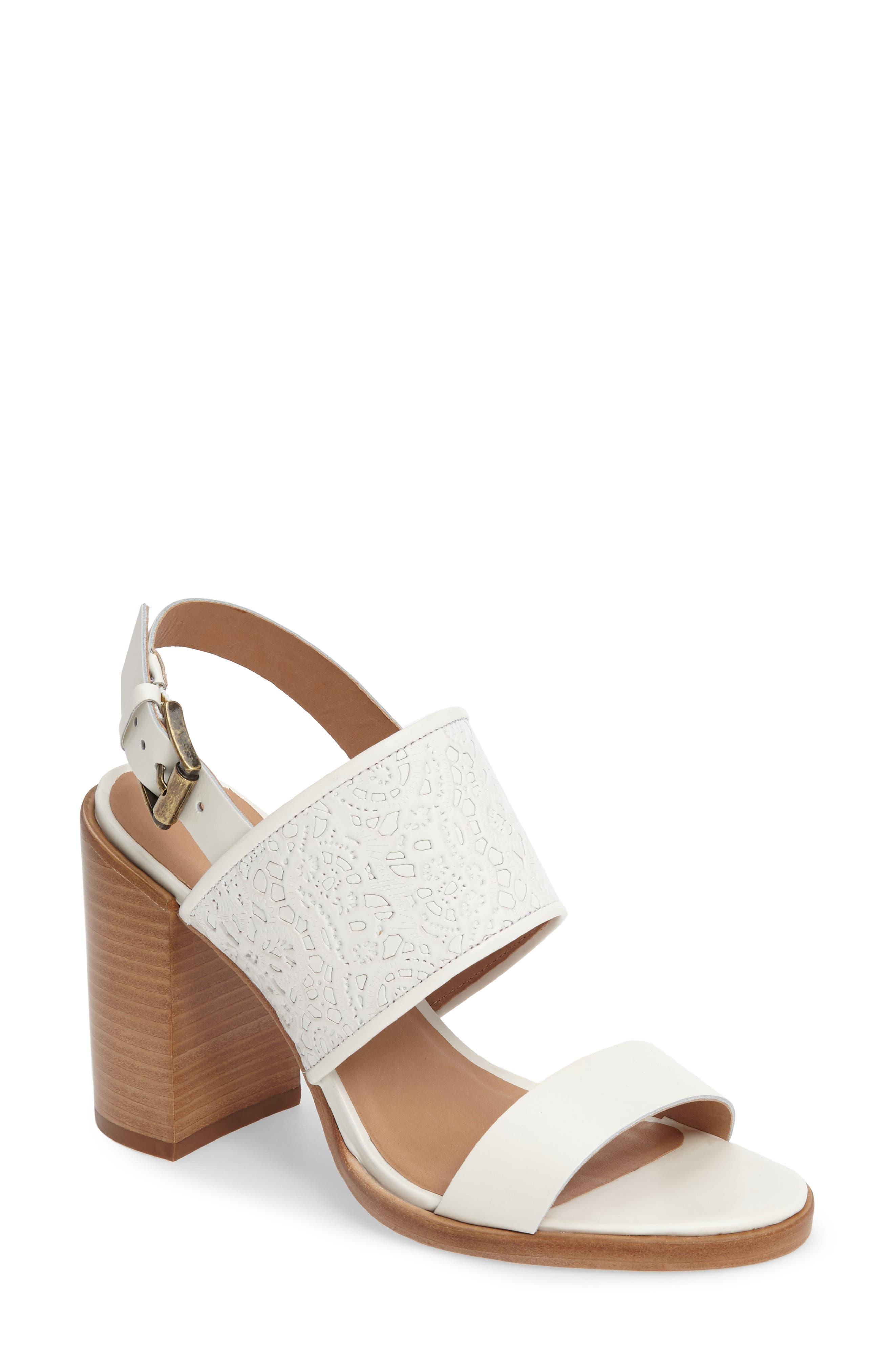 Tilda Sandal,                         Main,                         color, White