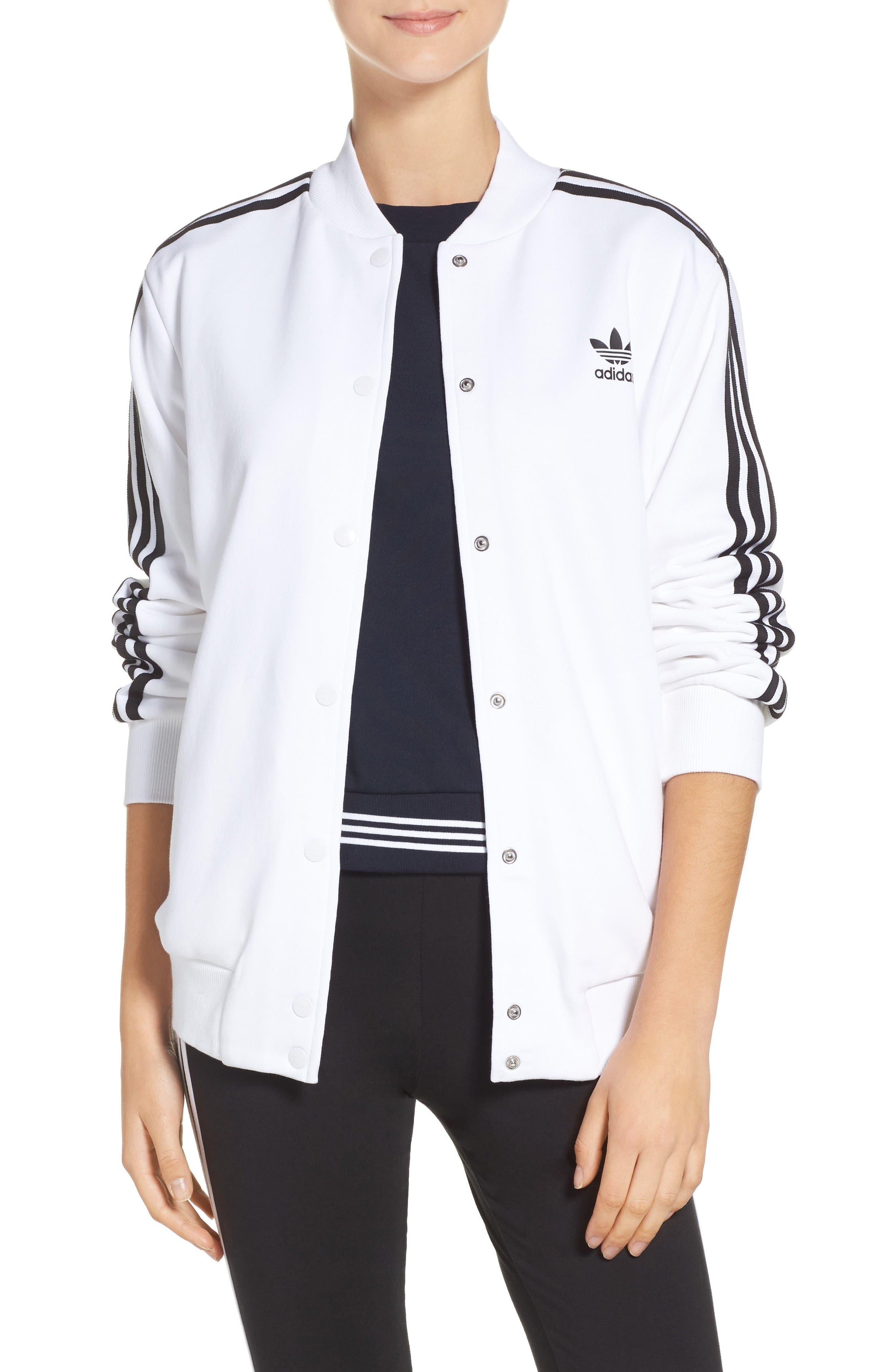 adidas 3-Stripes Bomber Jacket