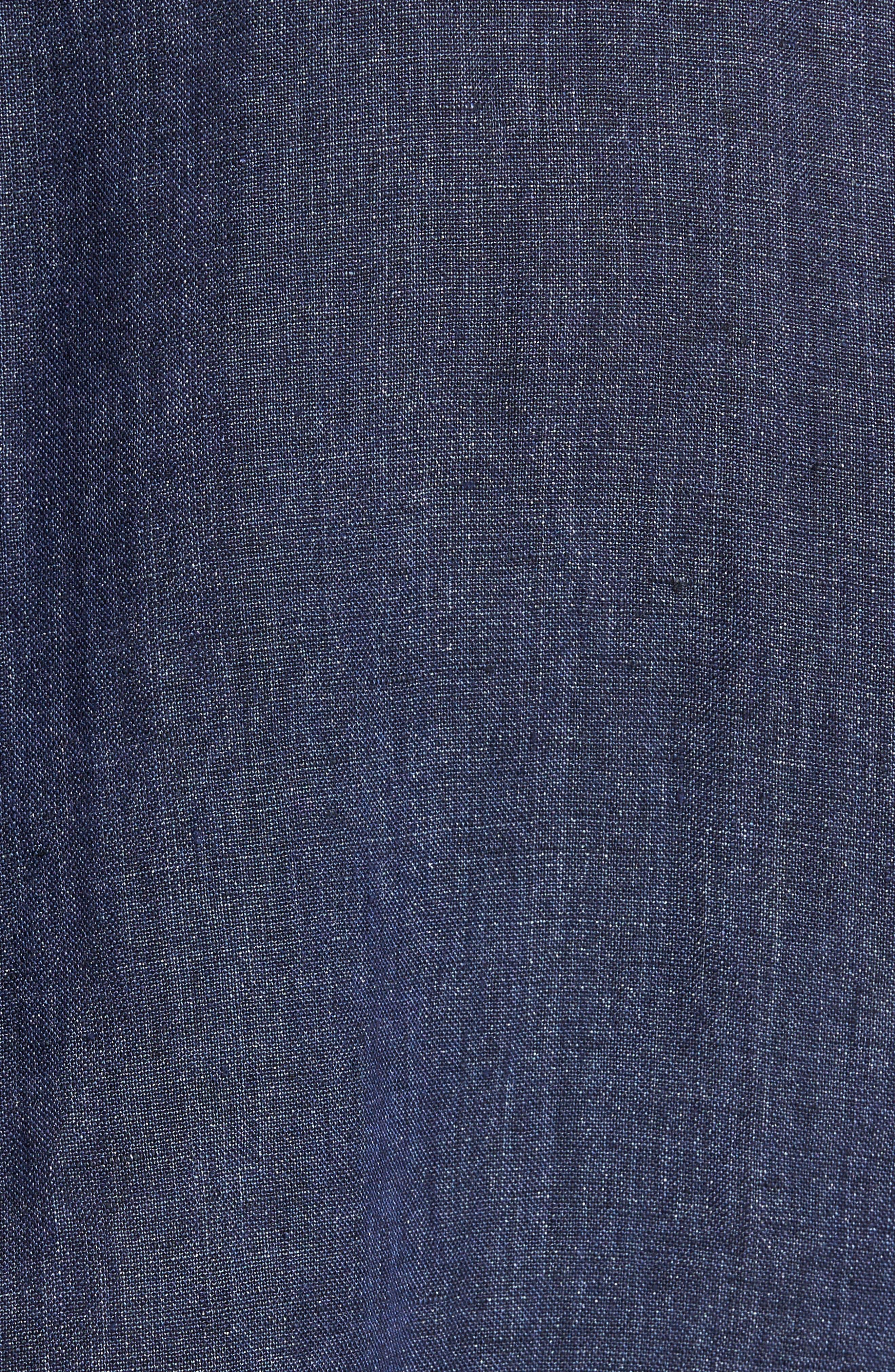 Alternate Image 5  - Rodd & Gunn Mount Bruce Sports Fit Linen Sport Shirt