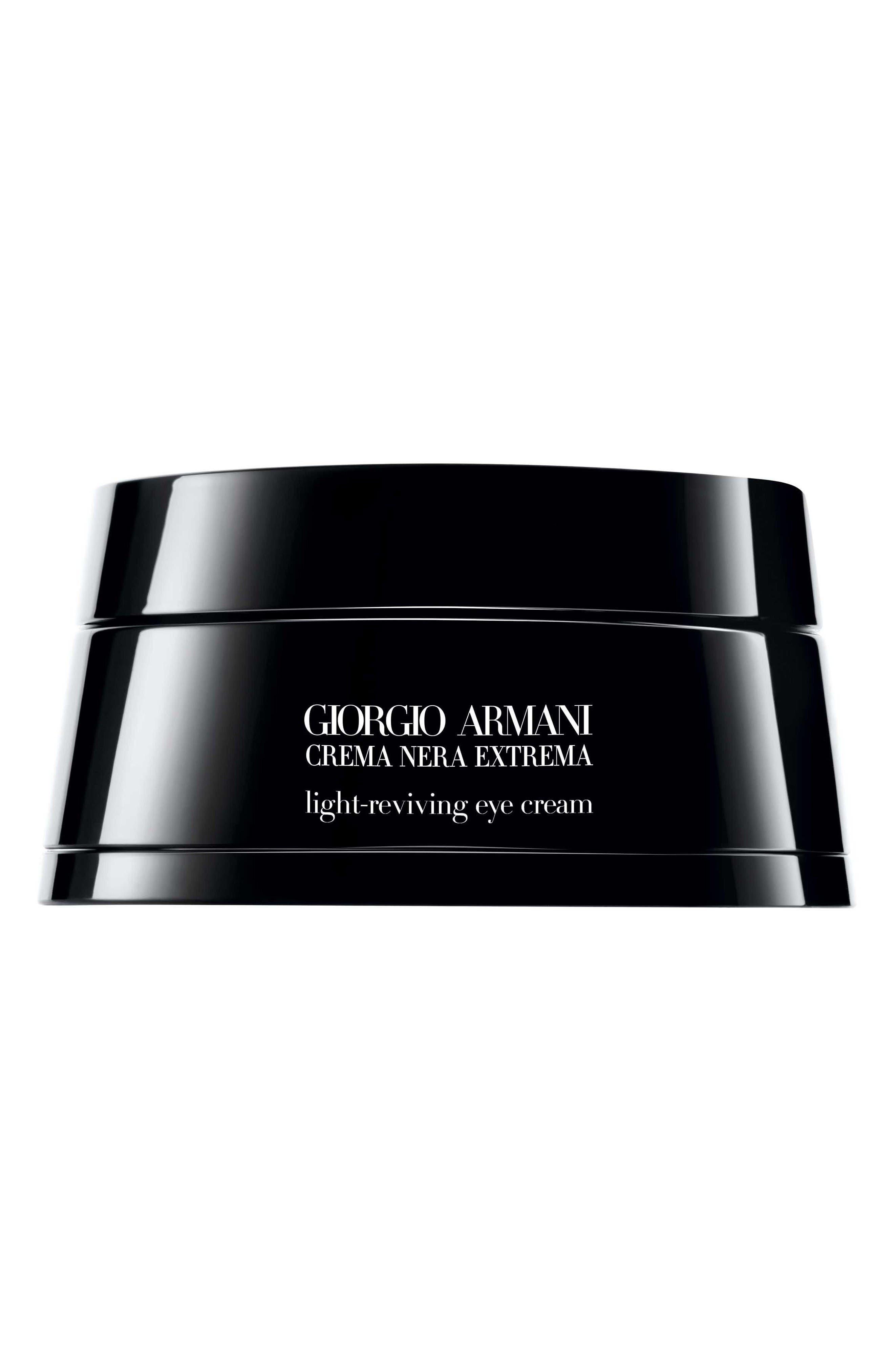 Main Image - Giorgio Armani Crema Nera Extrema Light-Reviving Eye Cream