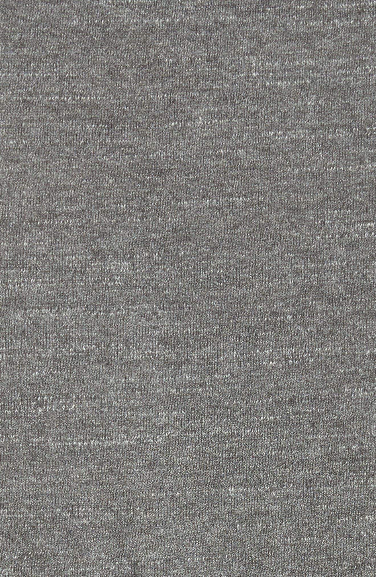Lucas Cotton Polo,                             Alternate thumbnail 5, color,                             Grey Heather