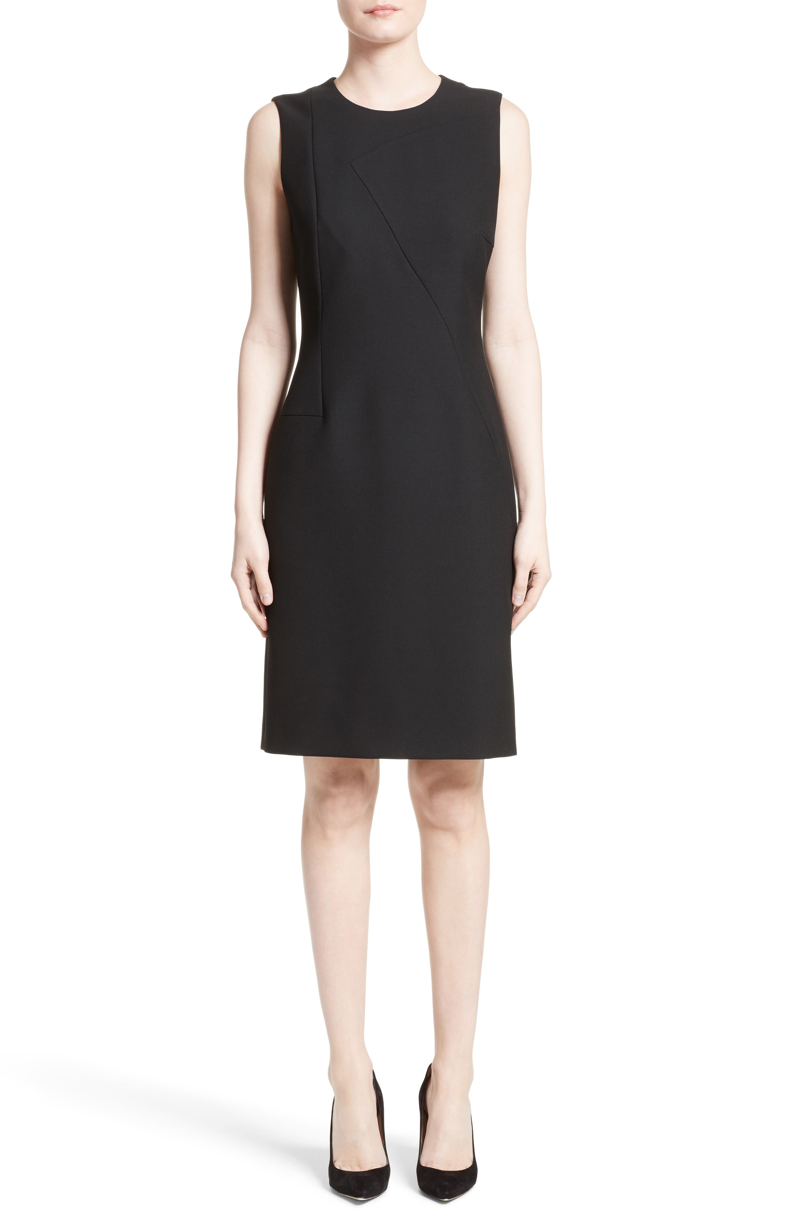 Alternate Image 2  - BOSS Demisana Sheath Dress (Regular & Petite)