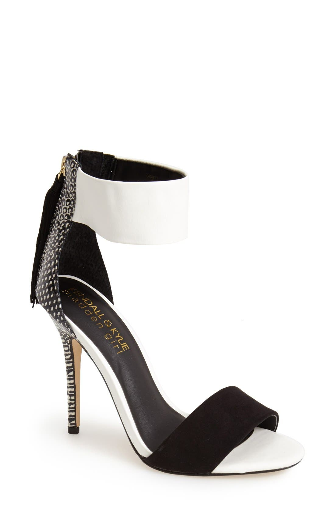 Alternate Image 1 Selected - KENDALL + KYLIE Madden Girl 'Digbyy' Ankle Cuff Sandal (Women)