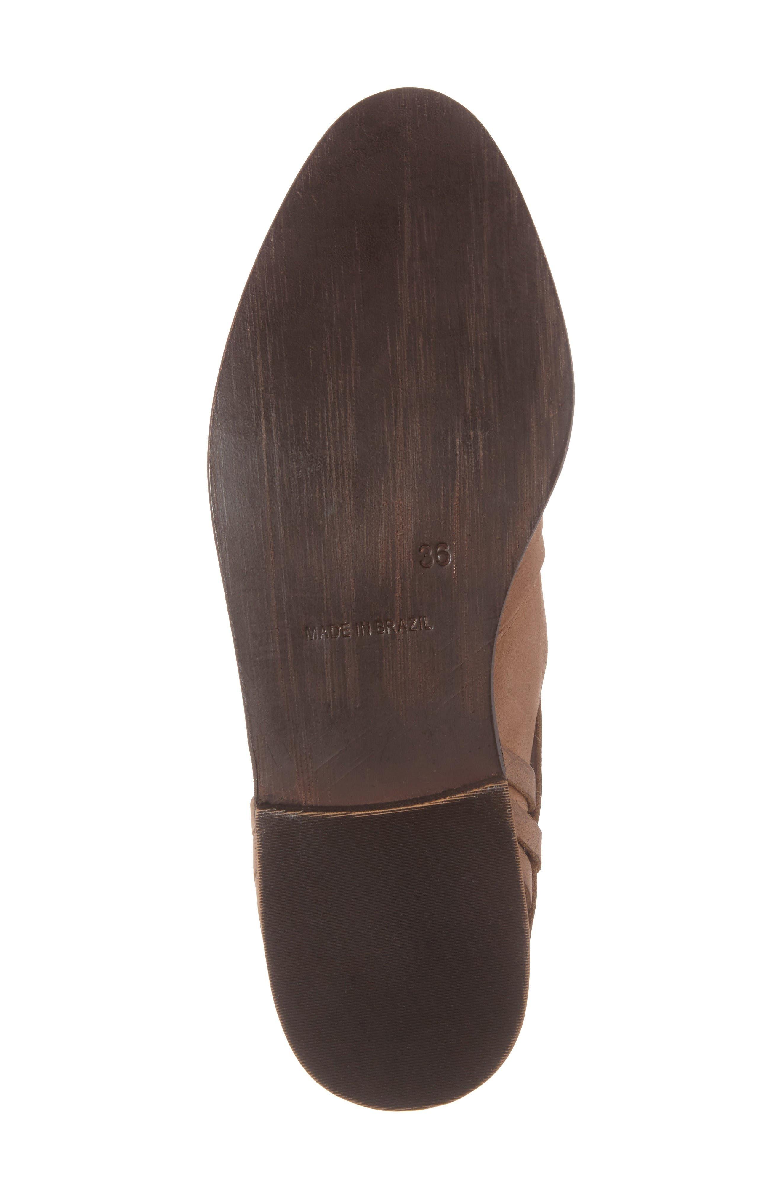 Fairuz Bootie,                             Alternate thumbnail 6, color,                             Tan Leather