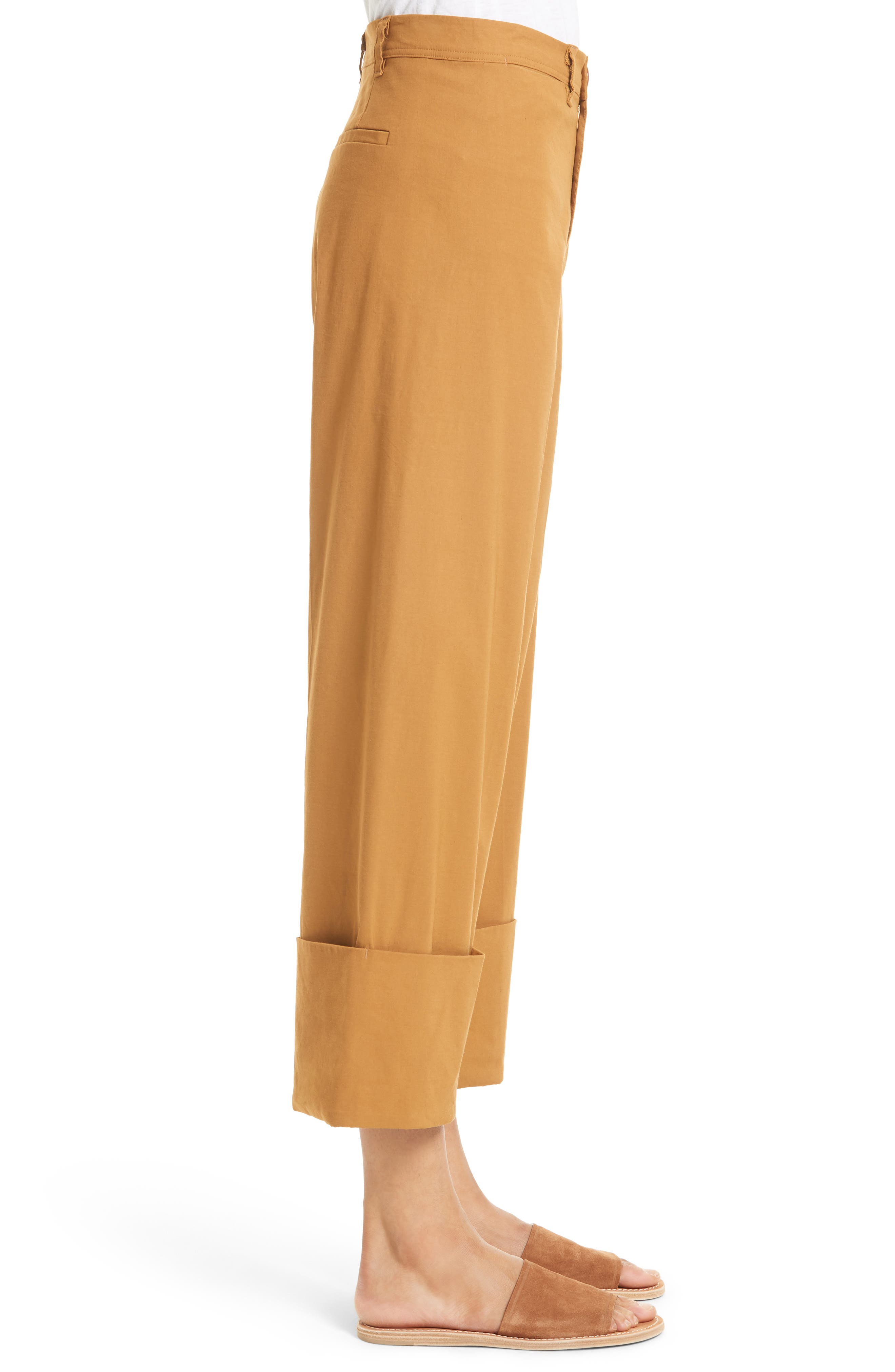Alternate Image 4  - Sea Cuffed Crop Pants