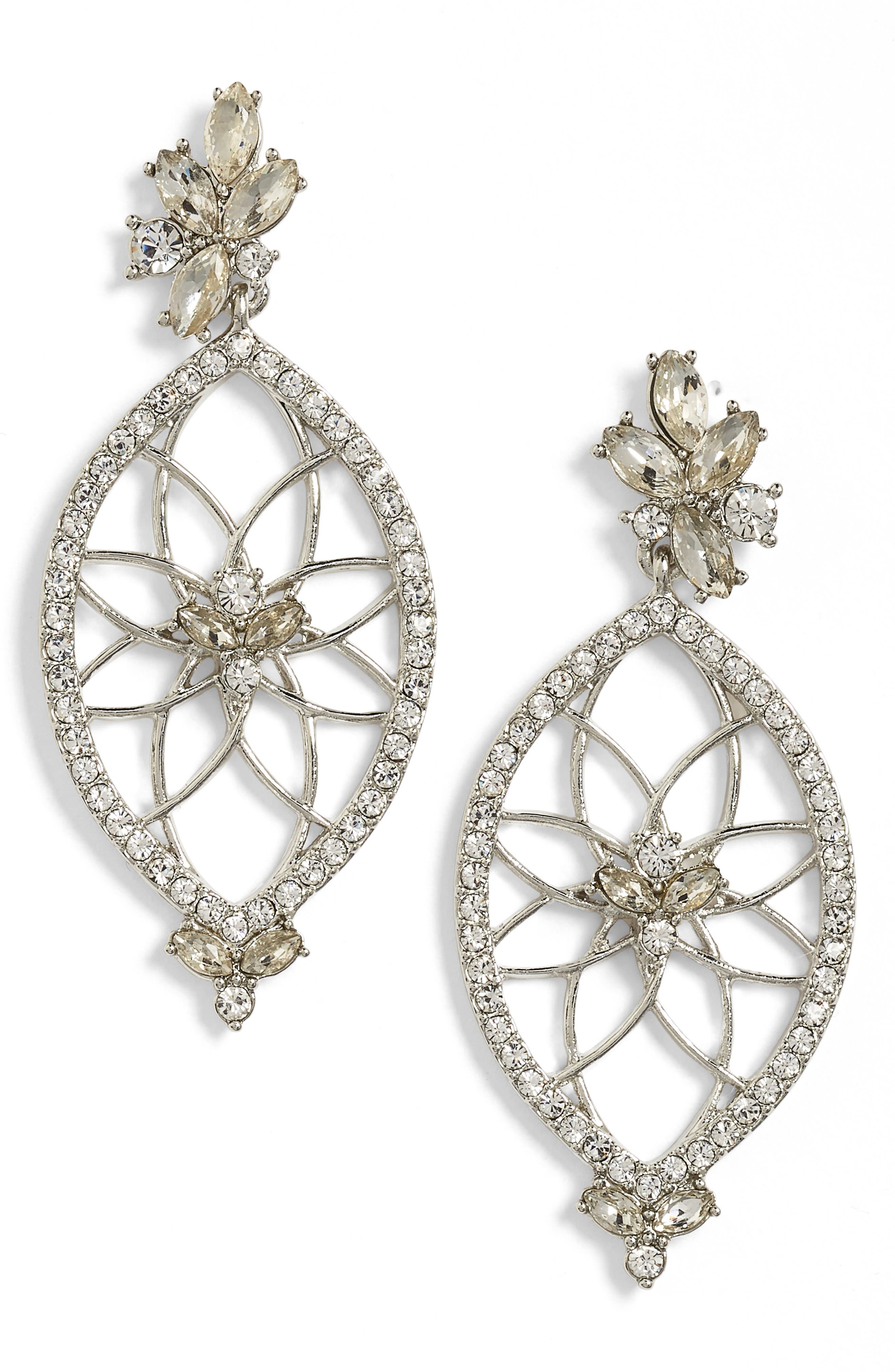 Alternate Image 1 Selected - Jenny Packham Glistening Shadows Dream Catcher Drop Earrings