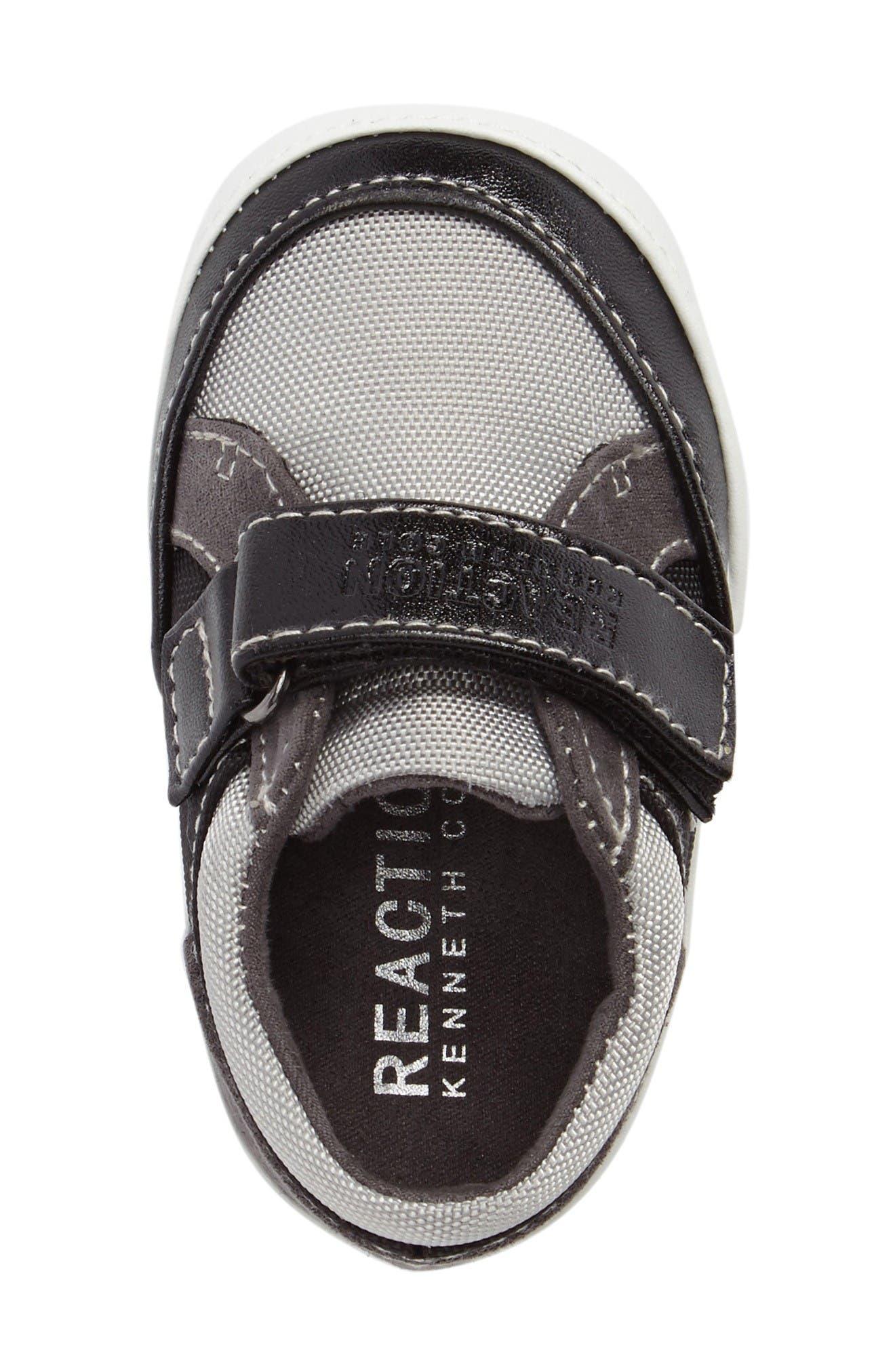 Danny Sneaker,                             Alternate thumbnail 5, color,                             Black/ Grey