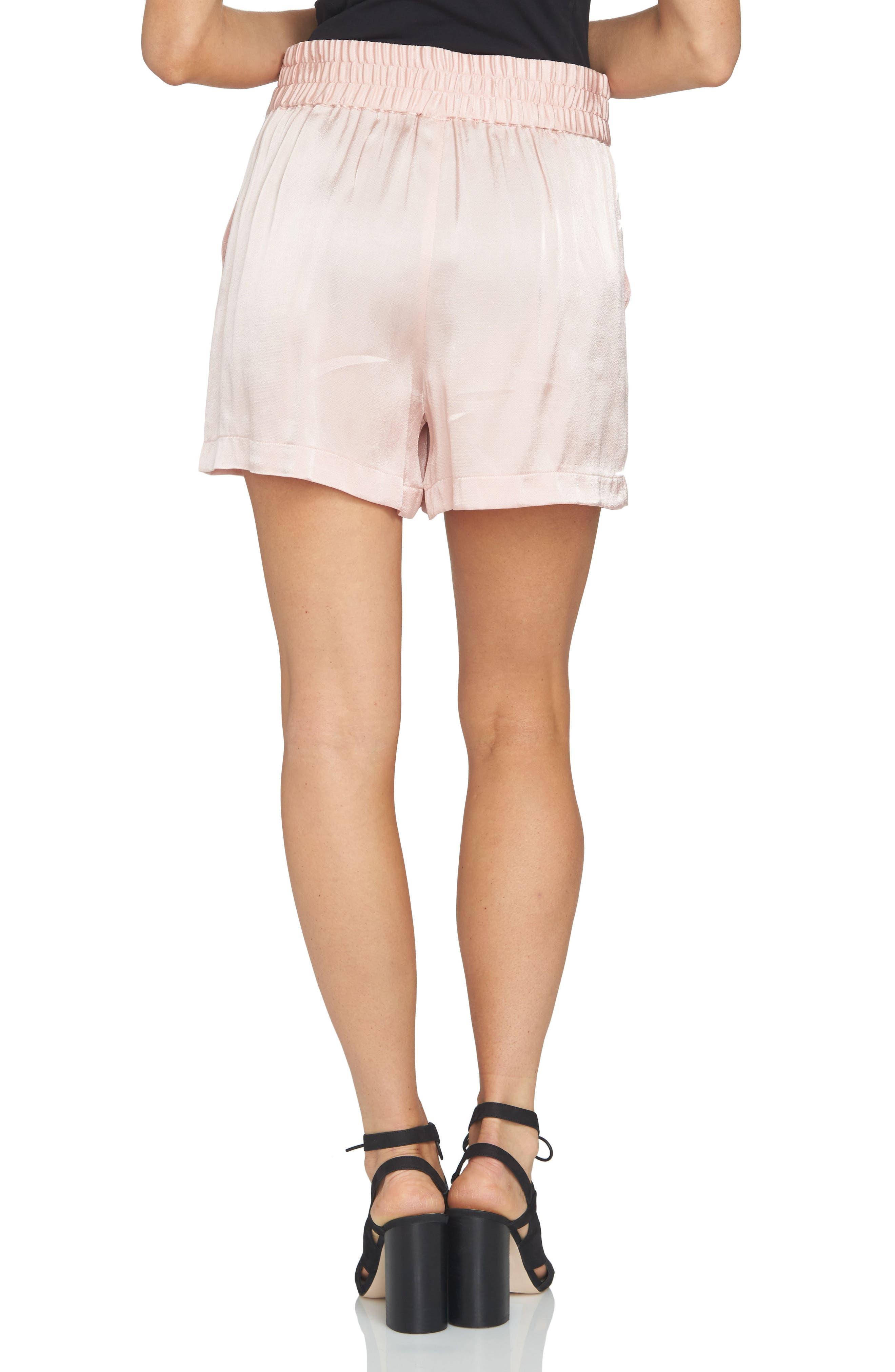 Alternate Image 2  - 1.STATE High Waist Drapey Shorts
