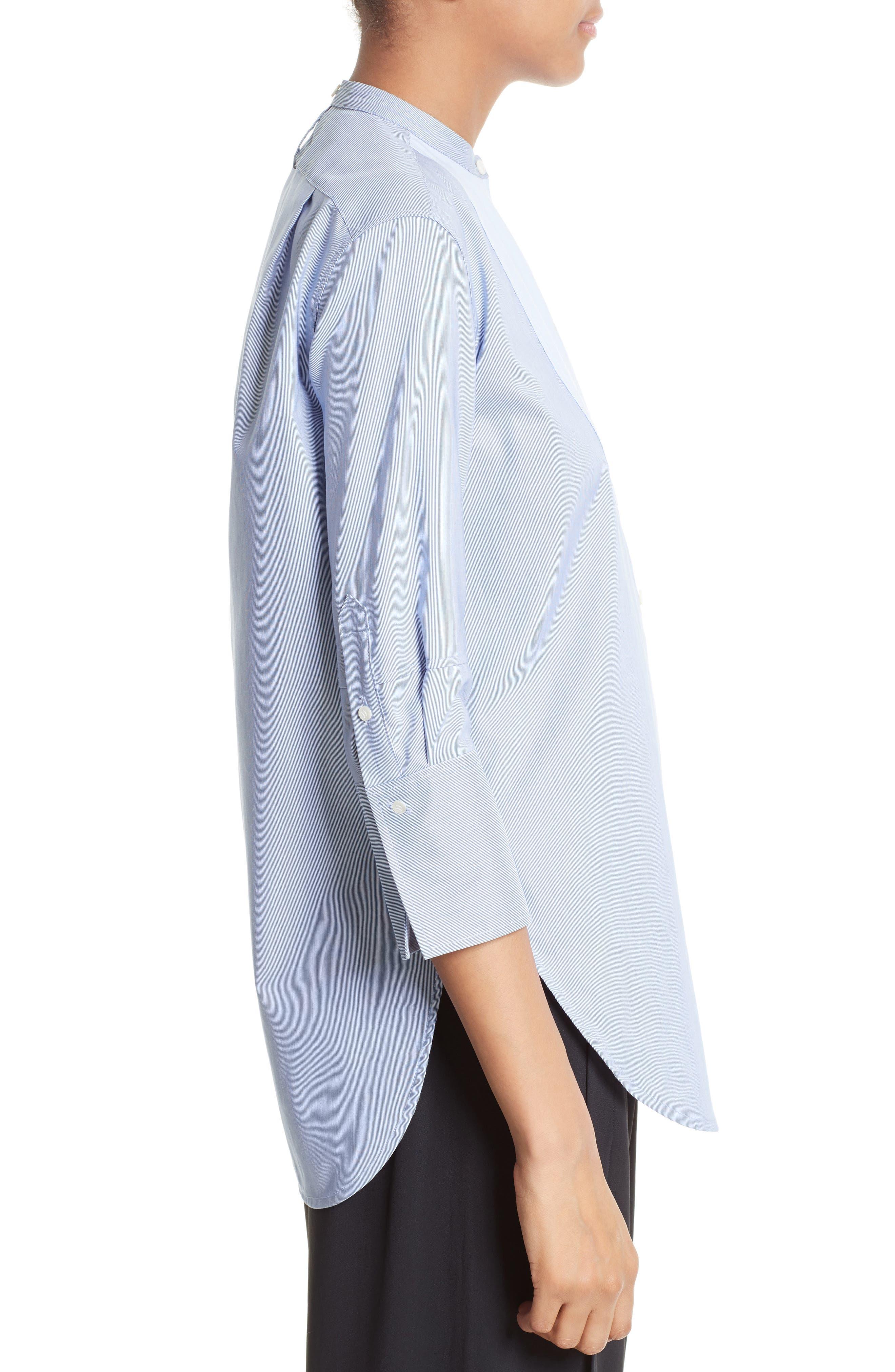 Alternate Image 3  - Helmut Lang Ottoman Tuxedo Shirt