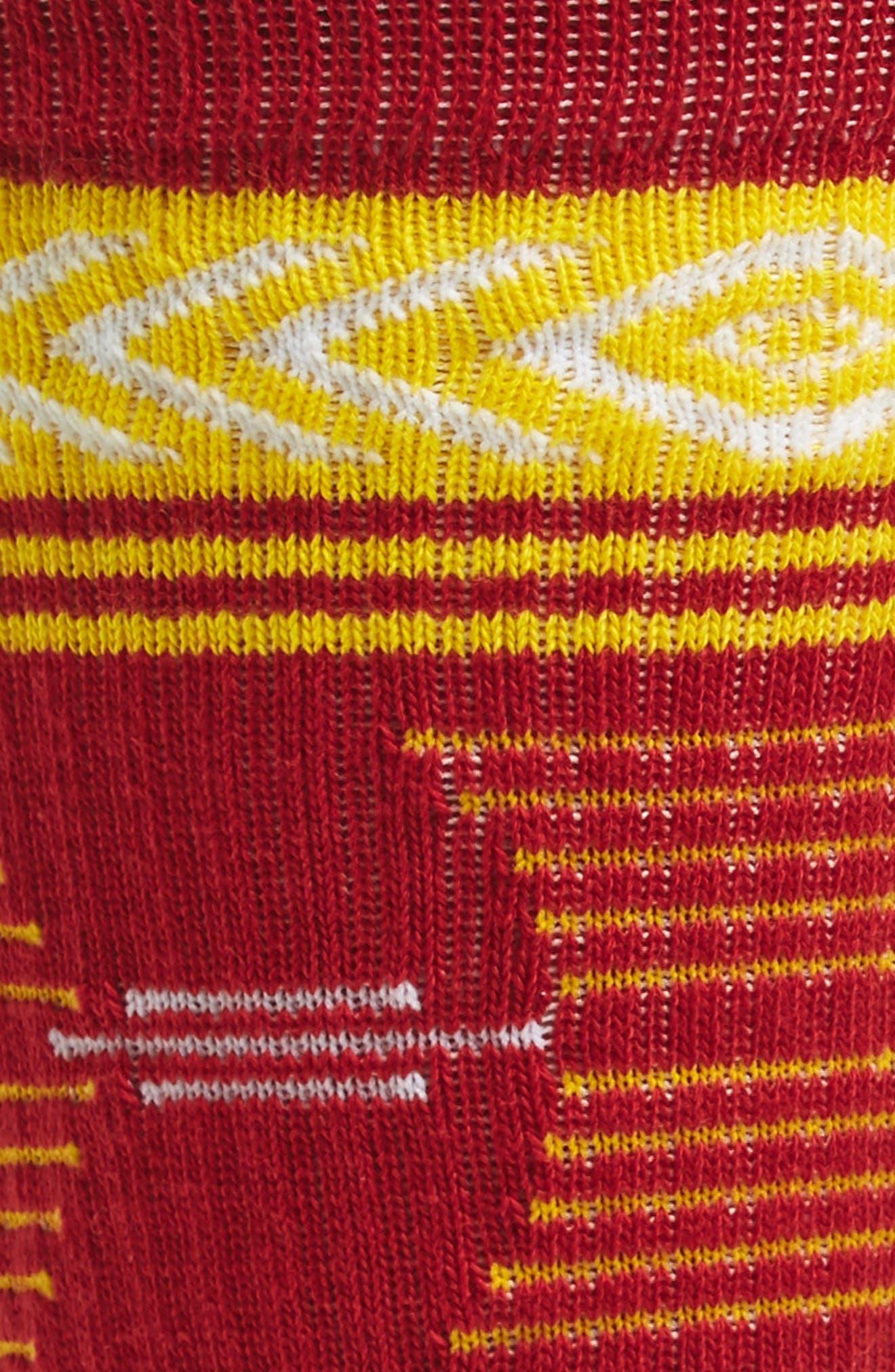 Mazed USC Trojans Socks,                             Alternate thumbnail 2, color,                             Cardinal